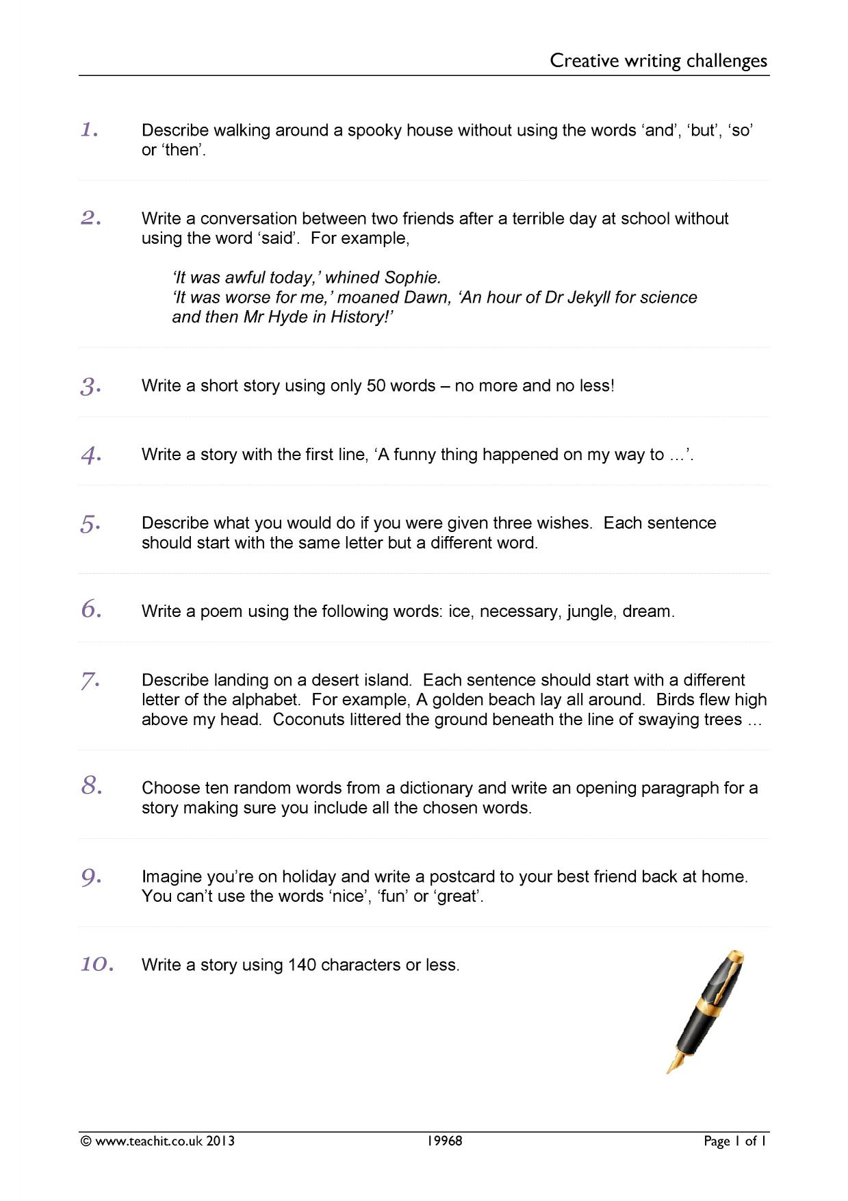 imaginative writing ks4 writing key stage 4 resources 26 preview