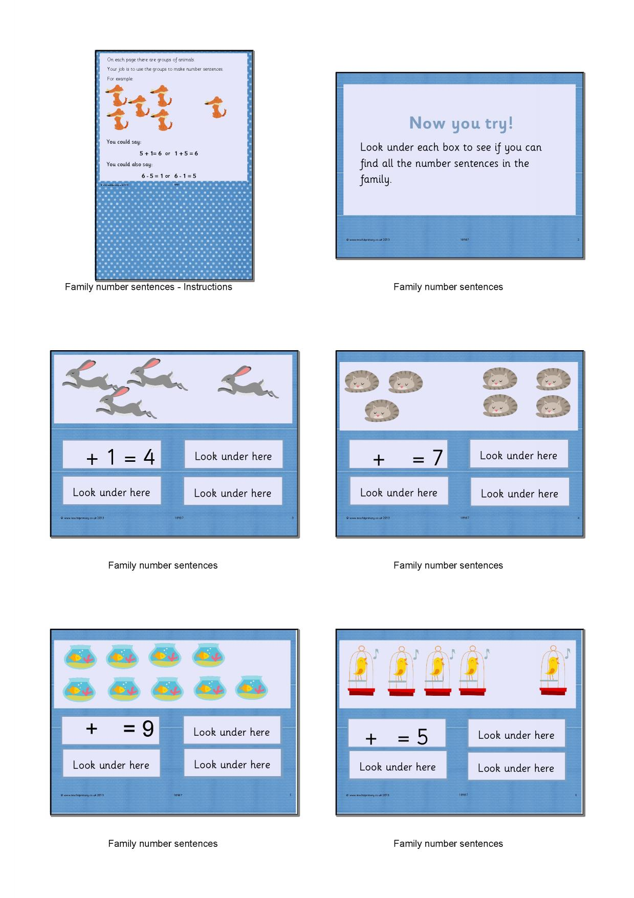 EYFS | KS1 | Addition and subtraction the basics | Teachit Primary