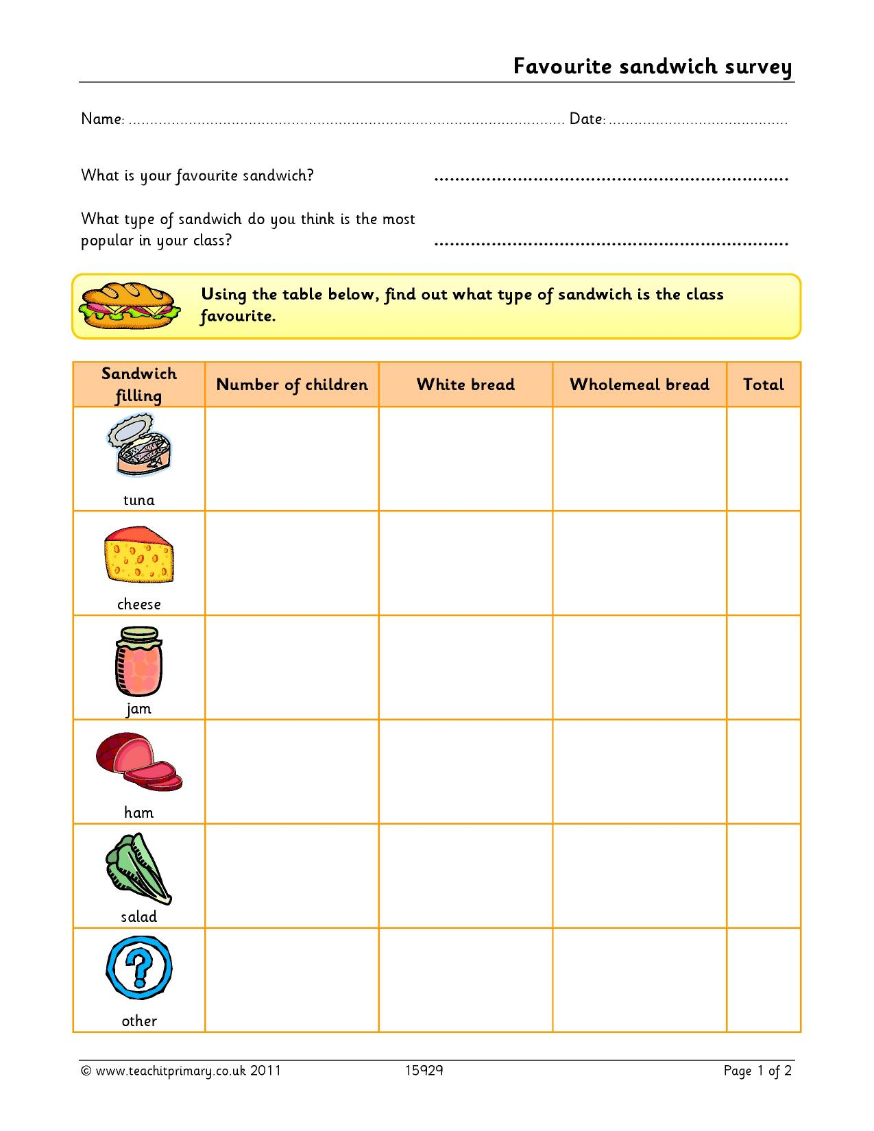Data handling ICT resources. Ideal for maths teaching on ...