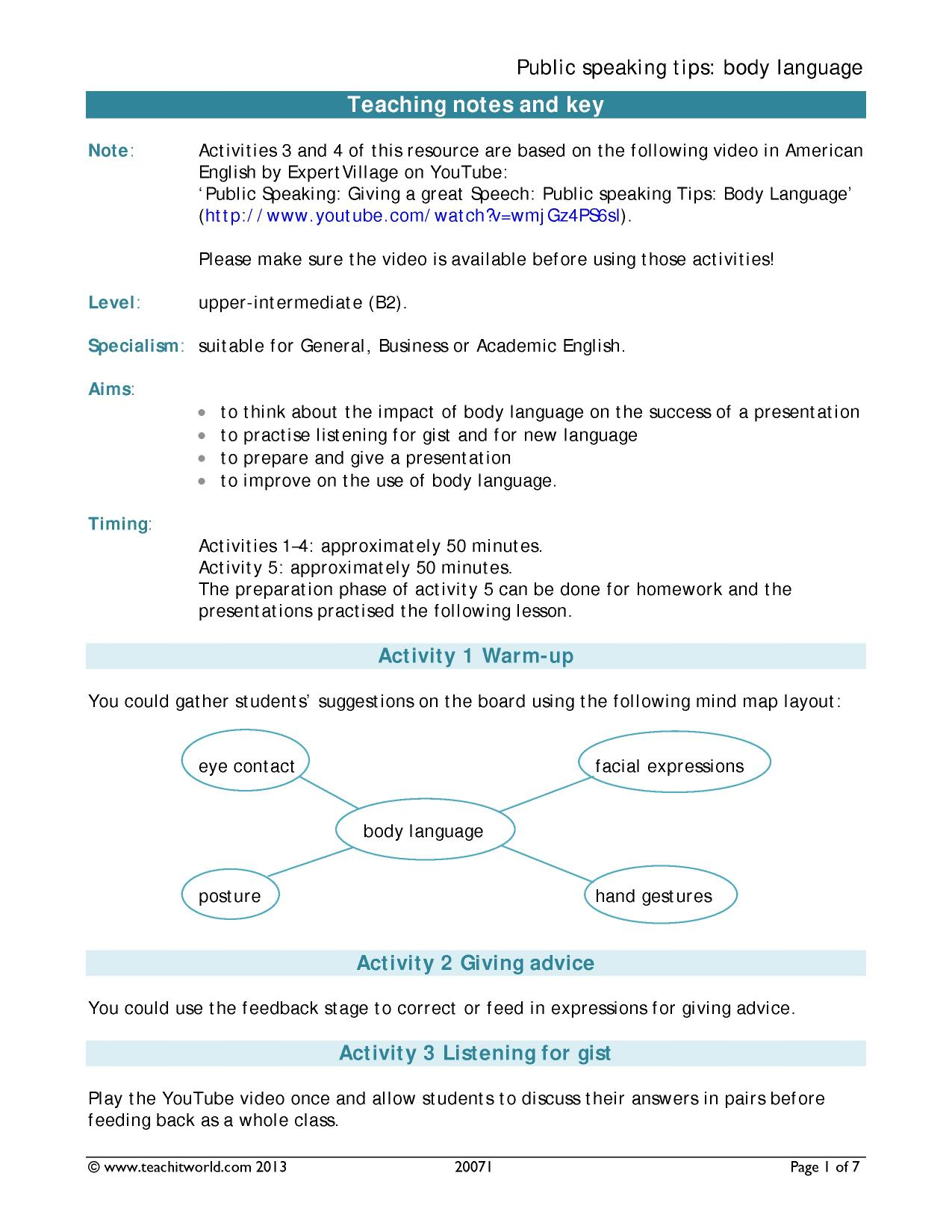 Teaching resources for English as an Additional Language (EAL
