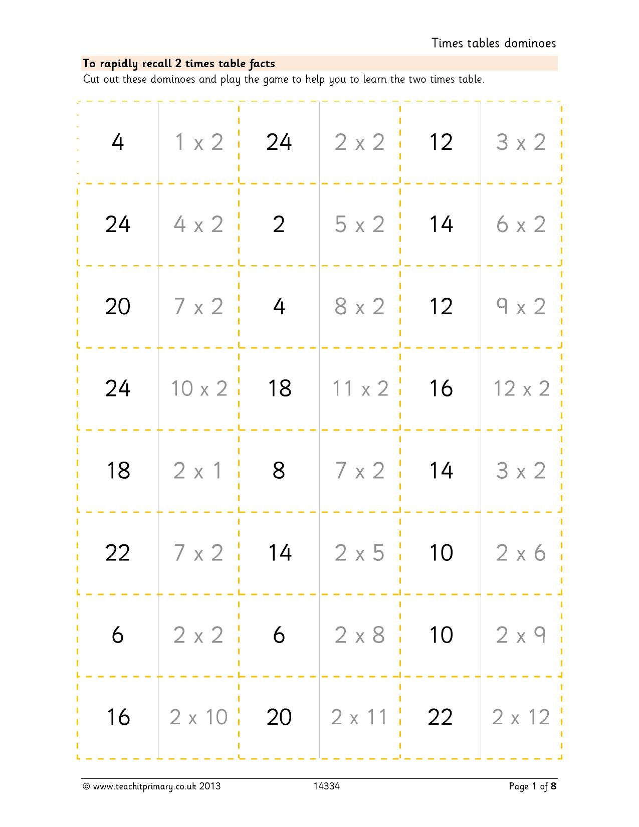 Times table dominoes challenging multiplication and division resource thumbnail gamestrikefo Image collections