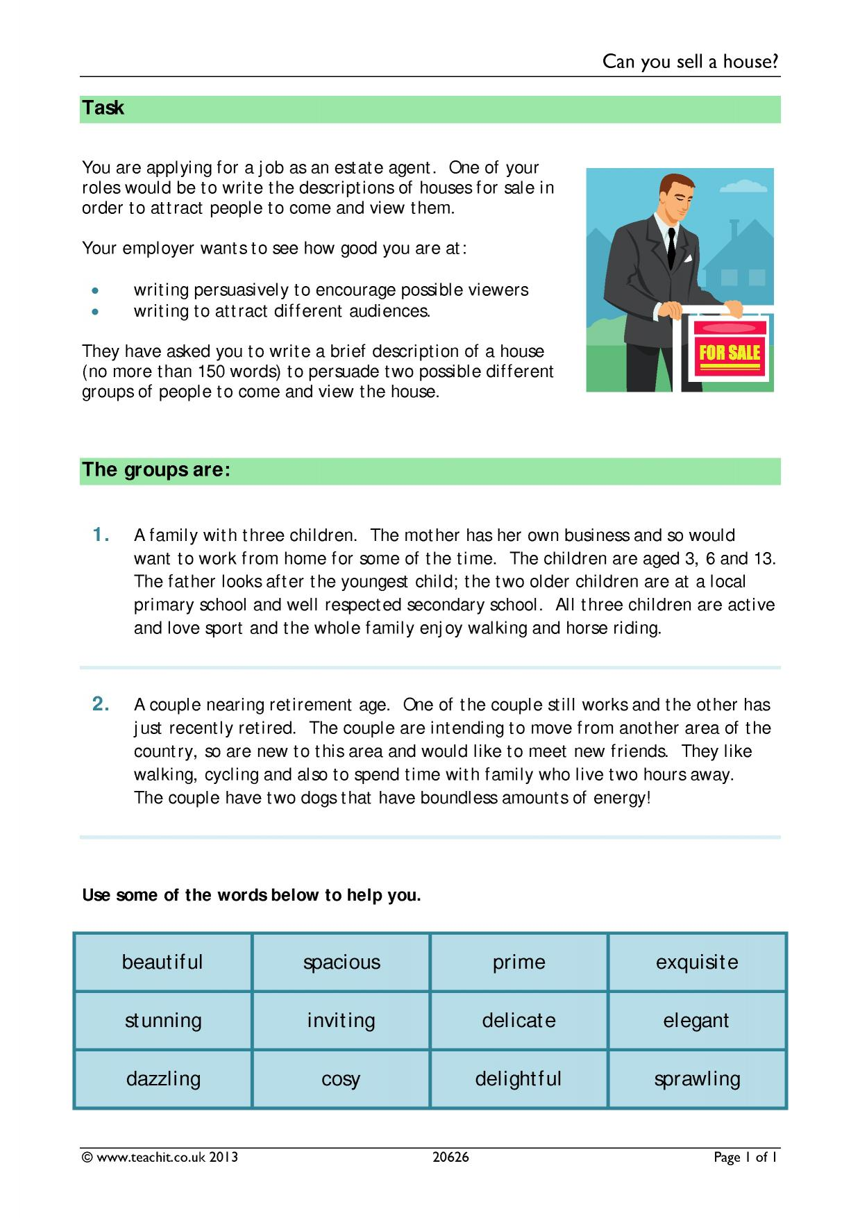 Persuasive writing (KS1 & KS2 resources)