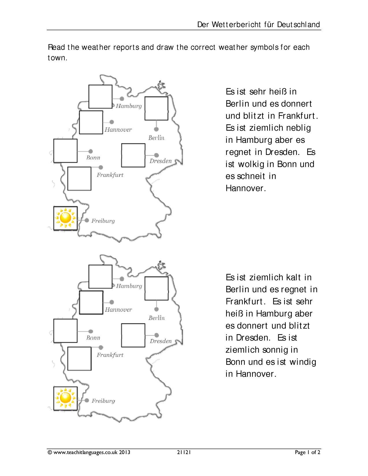 ks3 german skills teachit languages reading. Black Bedroom Furniture Sets. Home Design Ideas