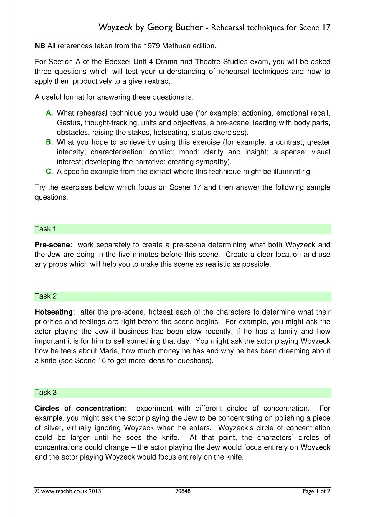 drama critique essays Those of you who have the assignment to write an essay about theater, should it  be theater college essay or theater critique essay, or even have to prepare a.