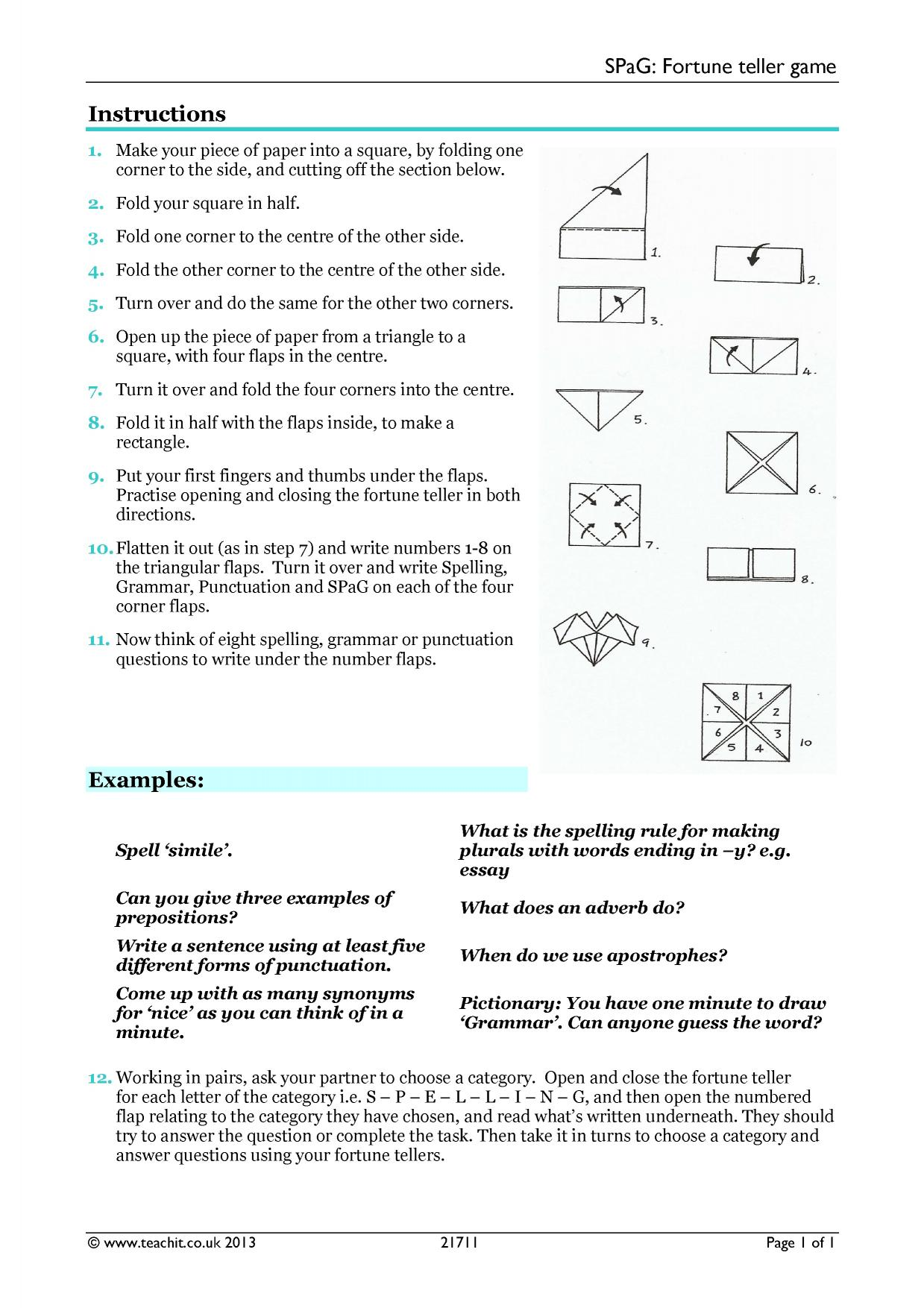 Punctuation   KS4 Grammar and vocabulary   Key Stage 4 ...