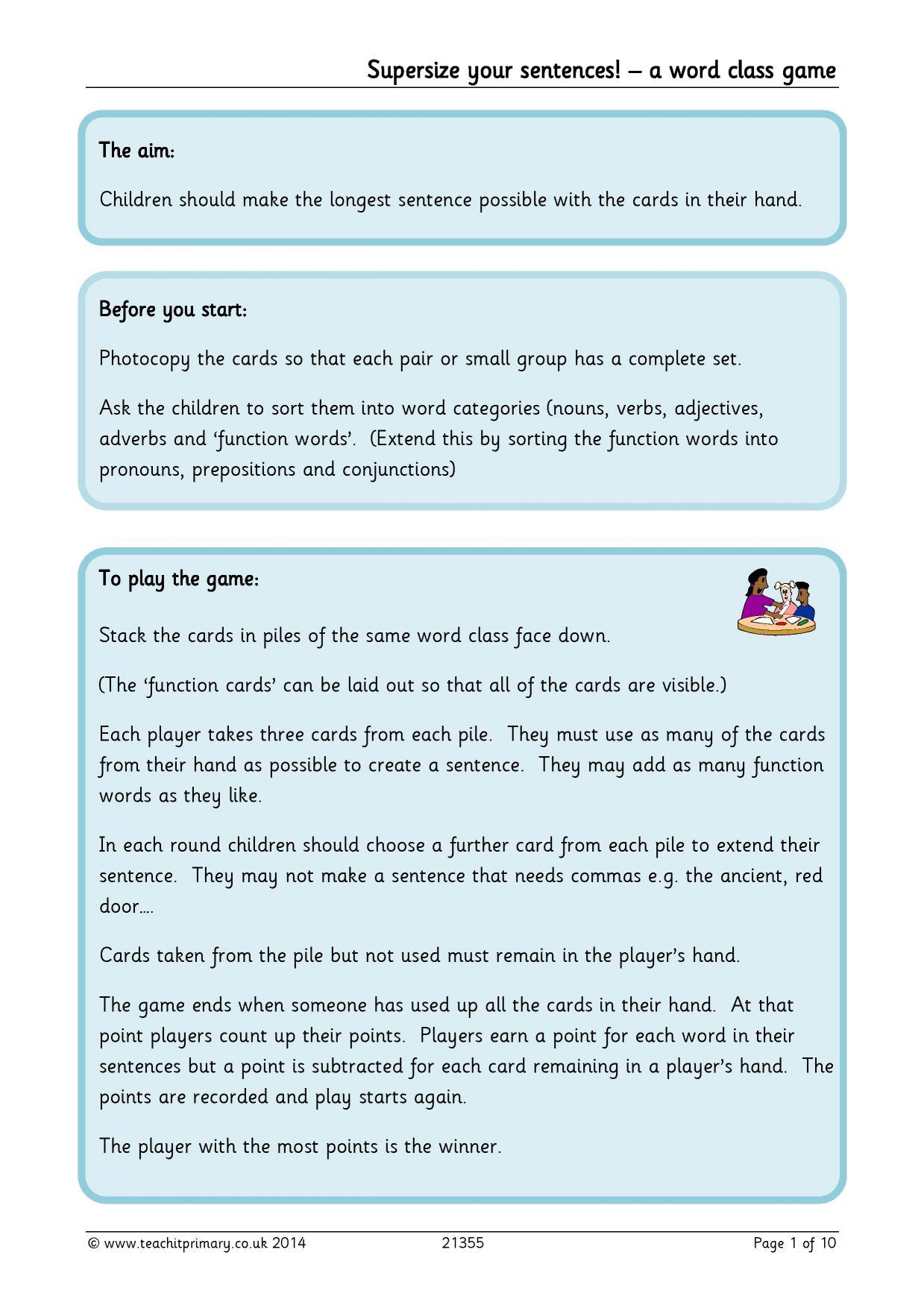 EYFS | KS1 | KS2 | Complex sentences | Teachit Primary