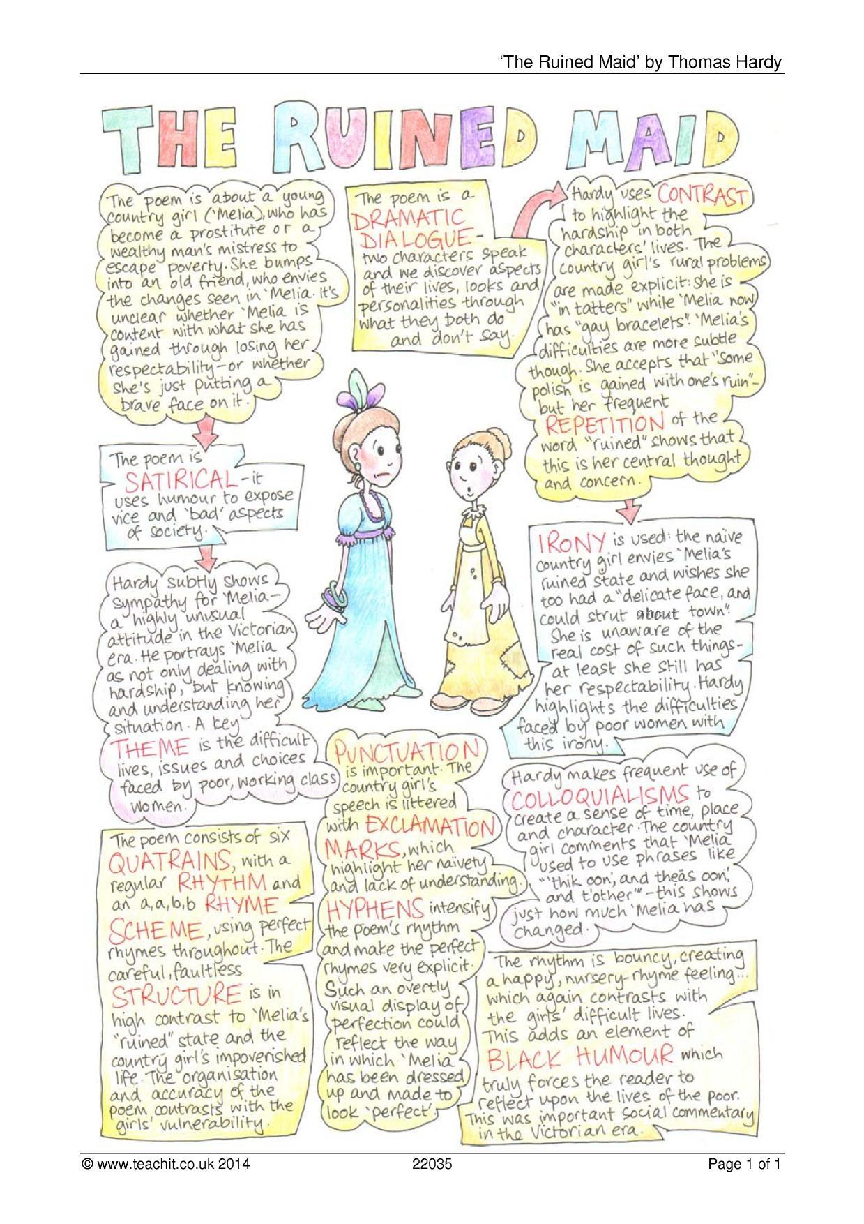 The Ruined Maid - Thomas Hardy: A Critical Essay