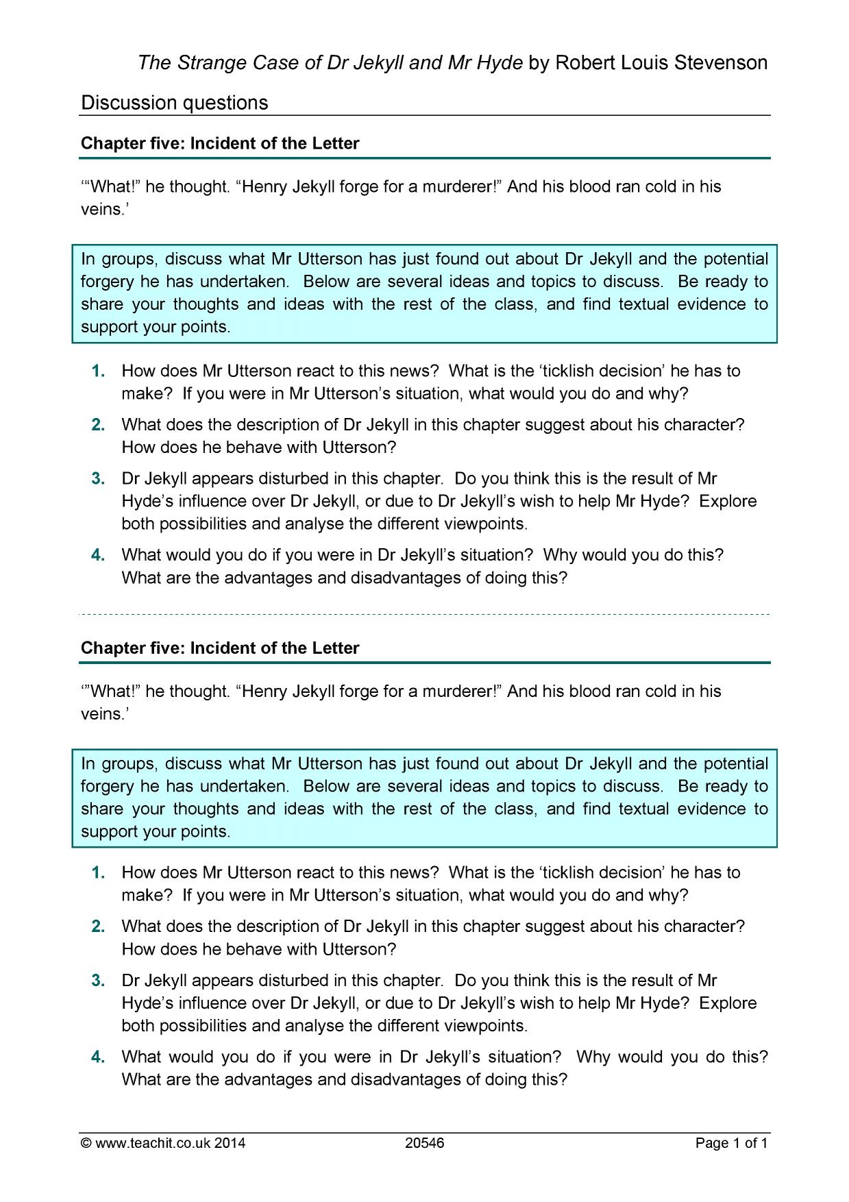 essay questions on dr jekyll and mr hyde  dr jekyll and mr hyde essay questions gradesaver
