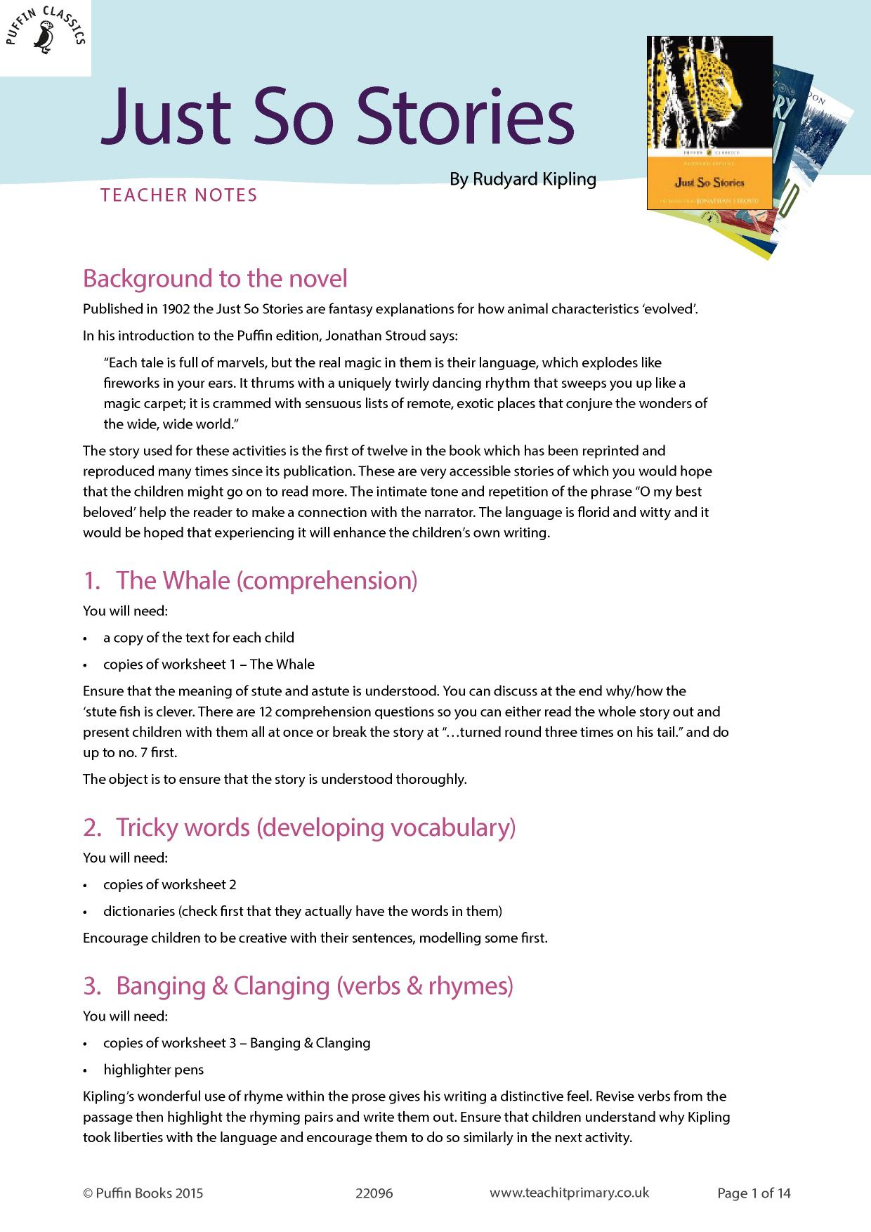 Reading Prehension Teaching Resources For FS KS1 And