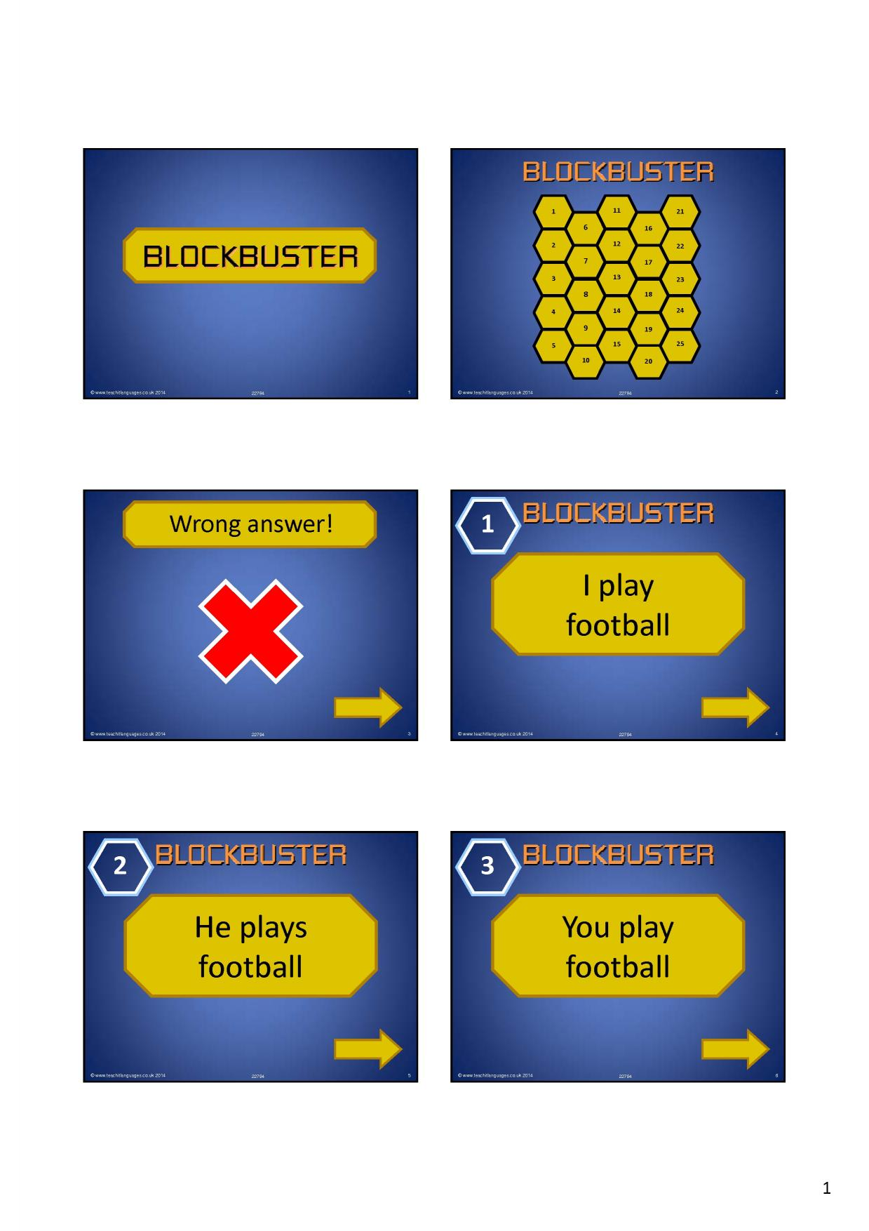blockbuster interactive game template resource templates revision home revision blockbuster interactive game template resource thumbnail