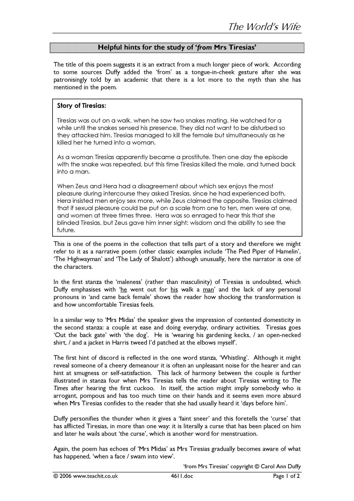 comprehensive carol ann duffy essay Havisham and valentine by carol ann duffy  comprehensive study notes and  havisham and valentine by carol ann duffy essay - havisham and valentine by carol ann.
