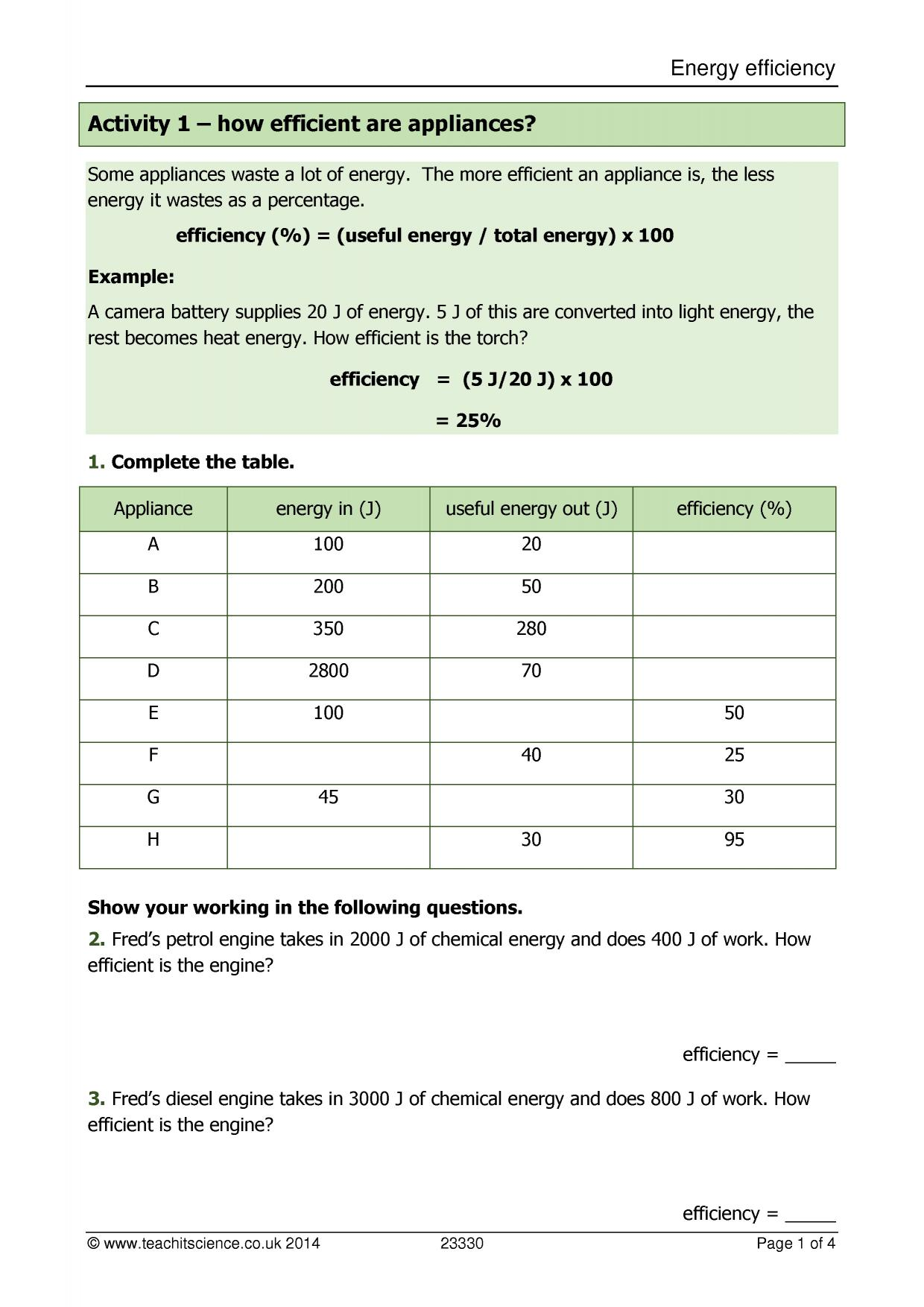 ks4 energy and electricity ks4 teachit science. Black Bedroom Furniture Sets. Home Design Ideas