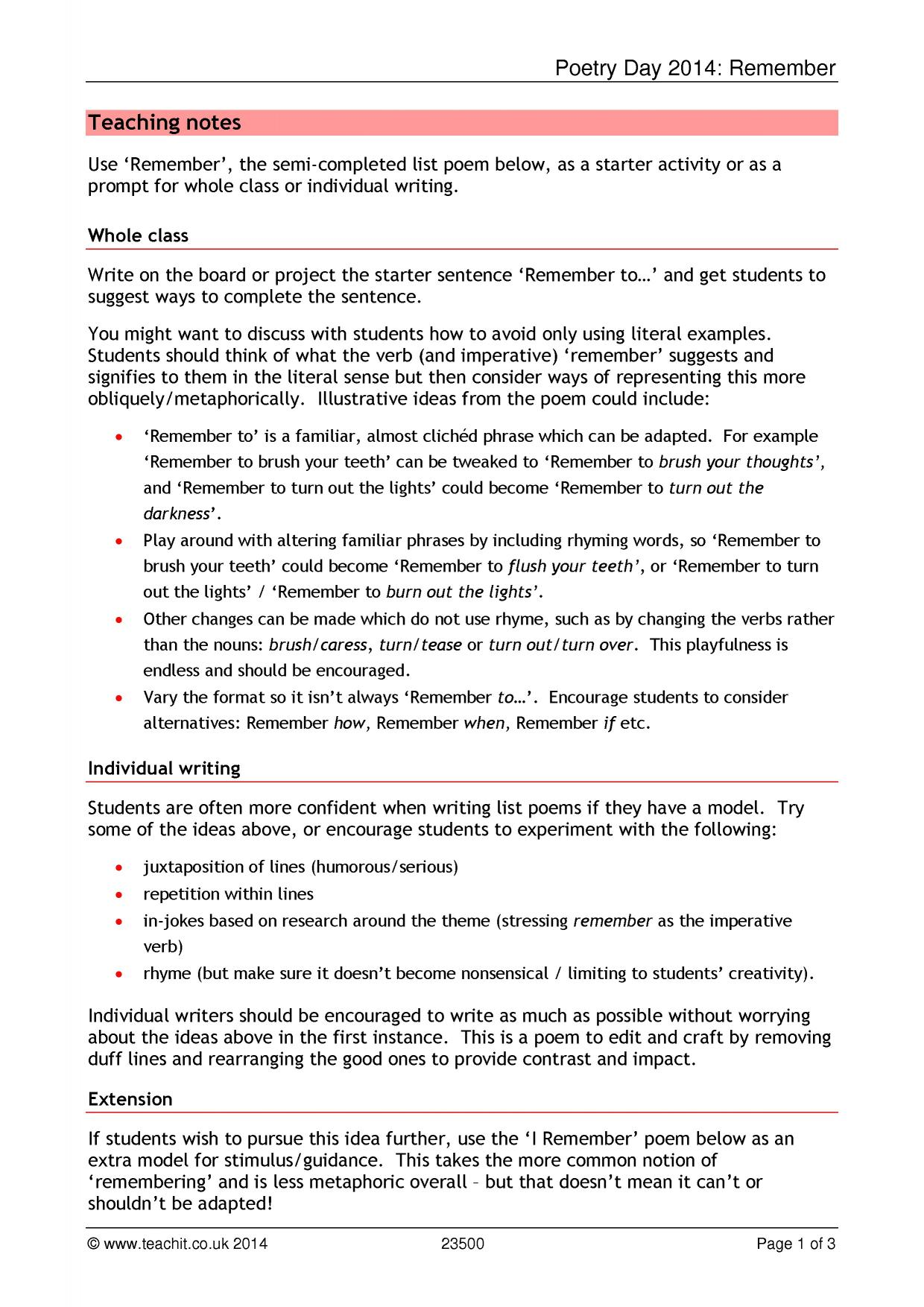 poetry 3 essay Complete a variety of assignments to accomplish these goals including a personal poetry journal and one essay essay option 3: songs as poems.