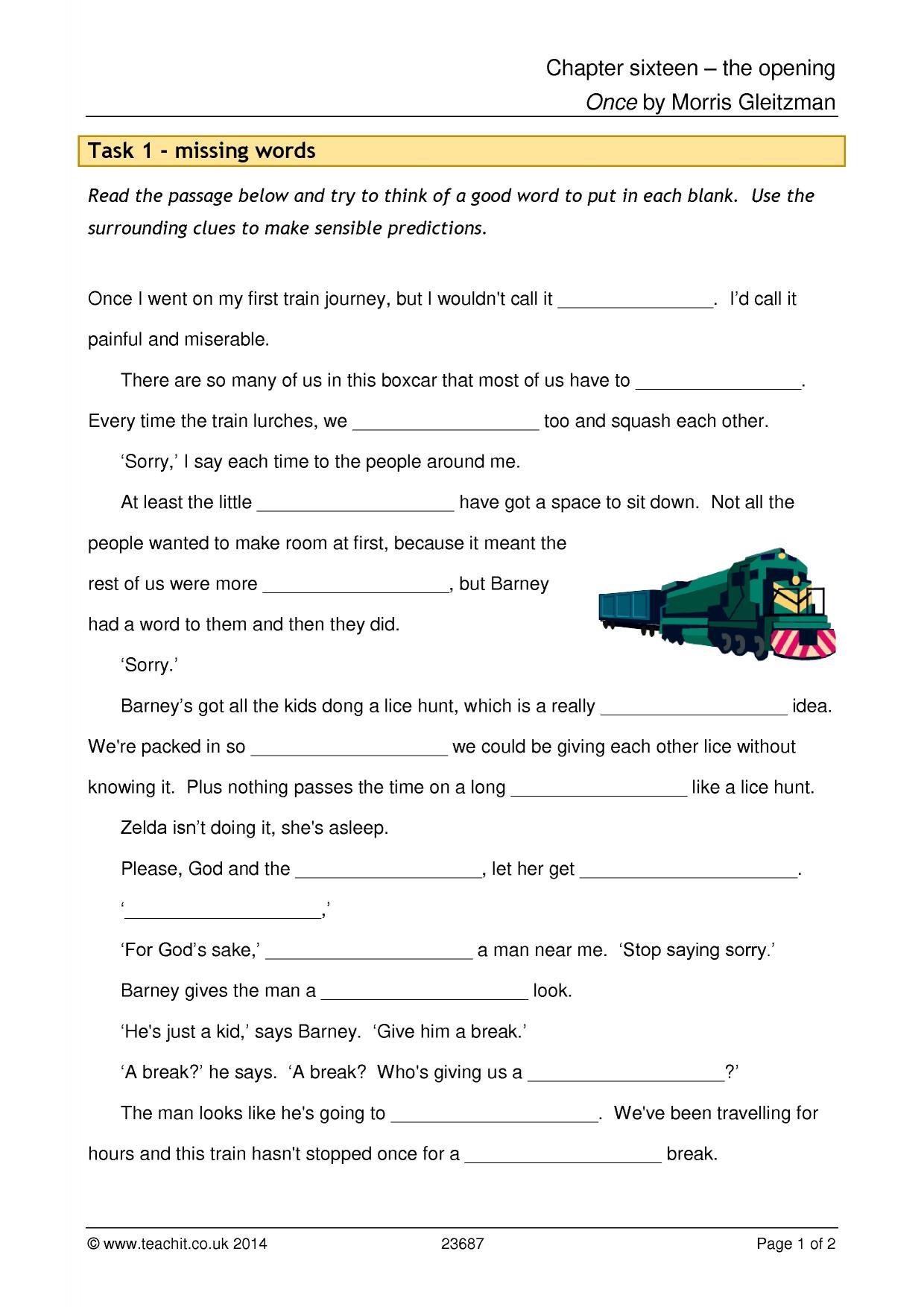 Once by Morris Gleitzman - PDF free download eBook
