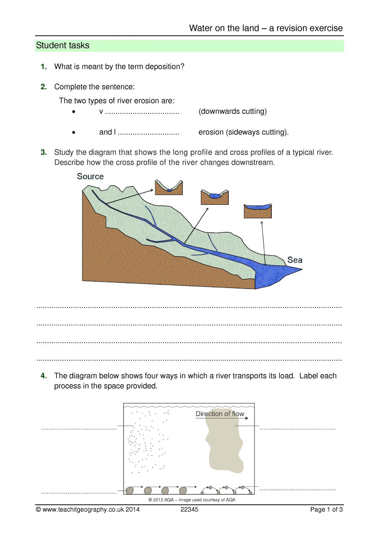 KS4   Rivers   Teachit Geography