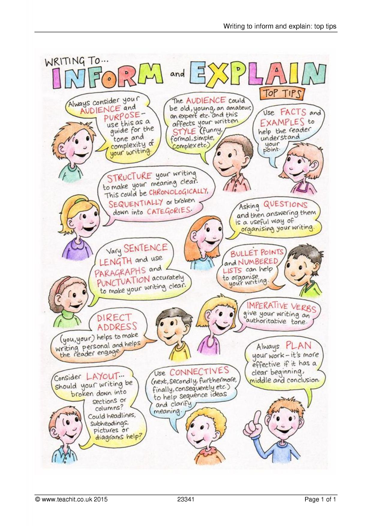 writing to explain essays Writing a how-to essay is trickier than it may seem this list will help you to find a topic that you know well, to make the project easier  to make the project easier list of topics for how-to essays search the site go for students & parents homework help writing essays tools & tips learning styles & skills  determine which one.