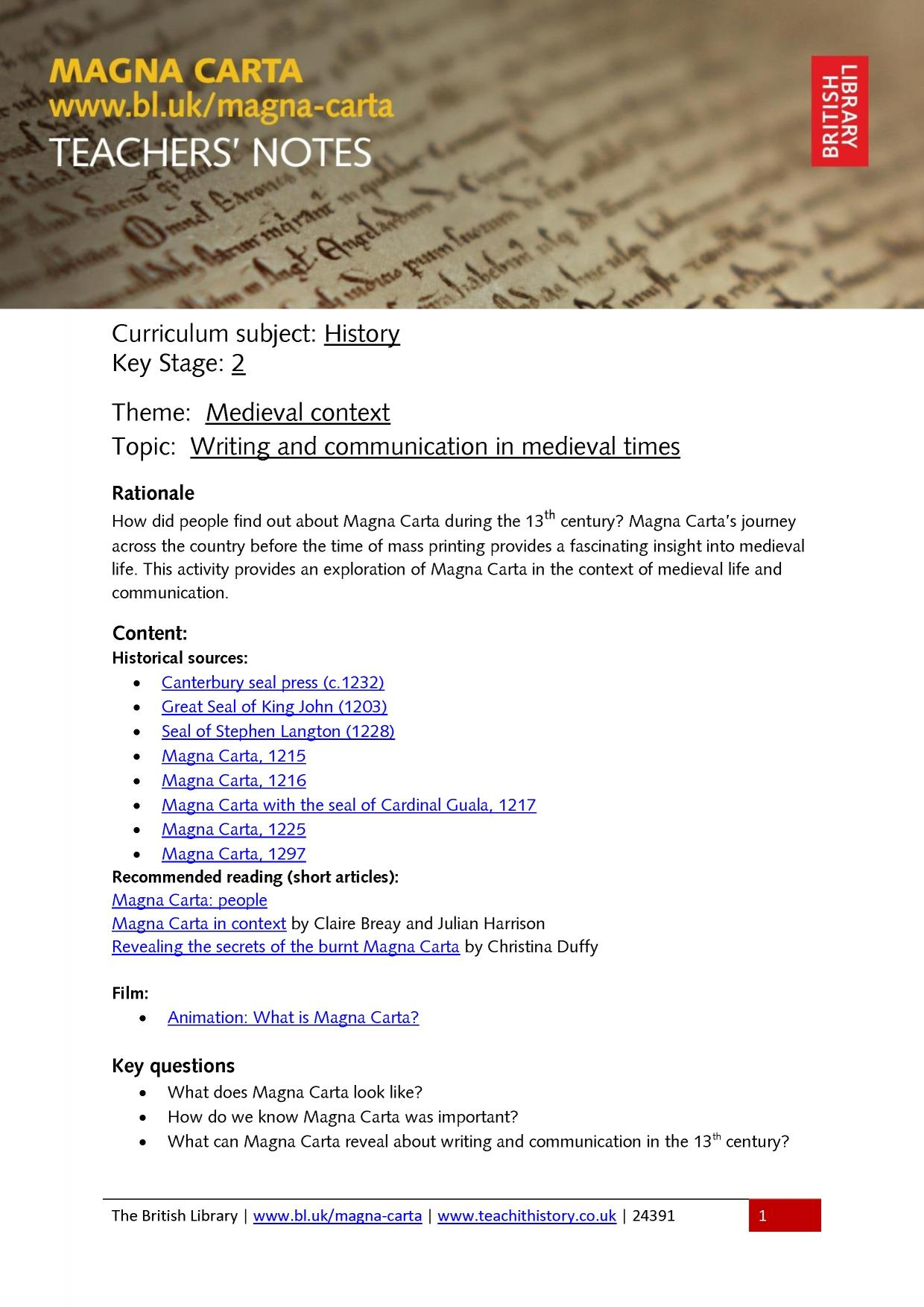 indian magna carta - write an essay Magna carta essay - get started with research paper writing and write finest college research paper ever entrust your assignments to the most talented writers.