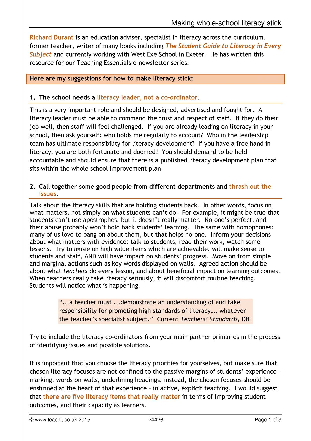 observation advice and teaching tips planning and assessment 2 preview
