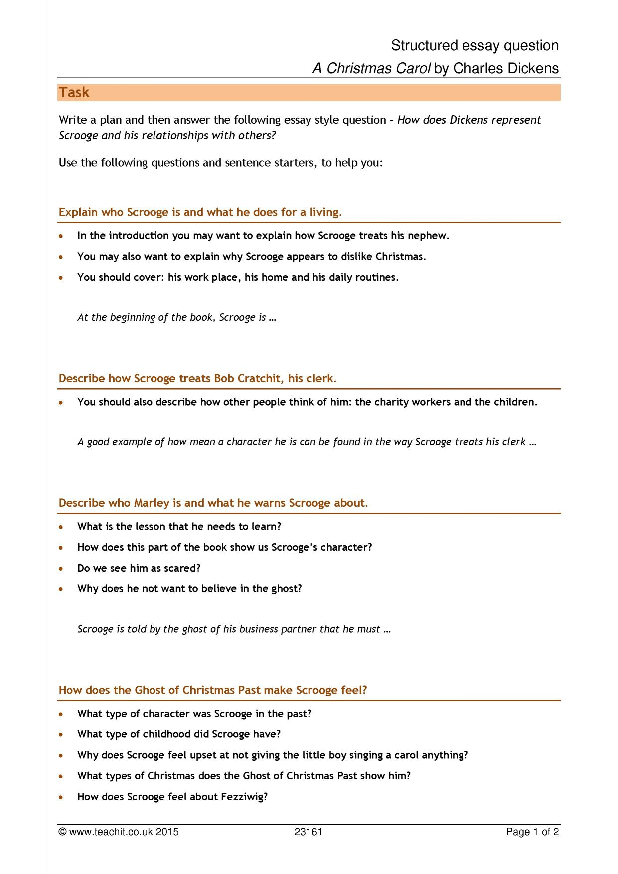 Structured Essay Question  Healthy Eating Essay also Model Essay English  Sample Essays High School Students