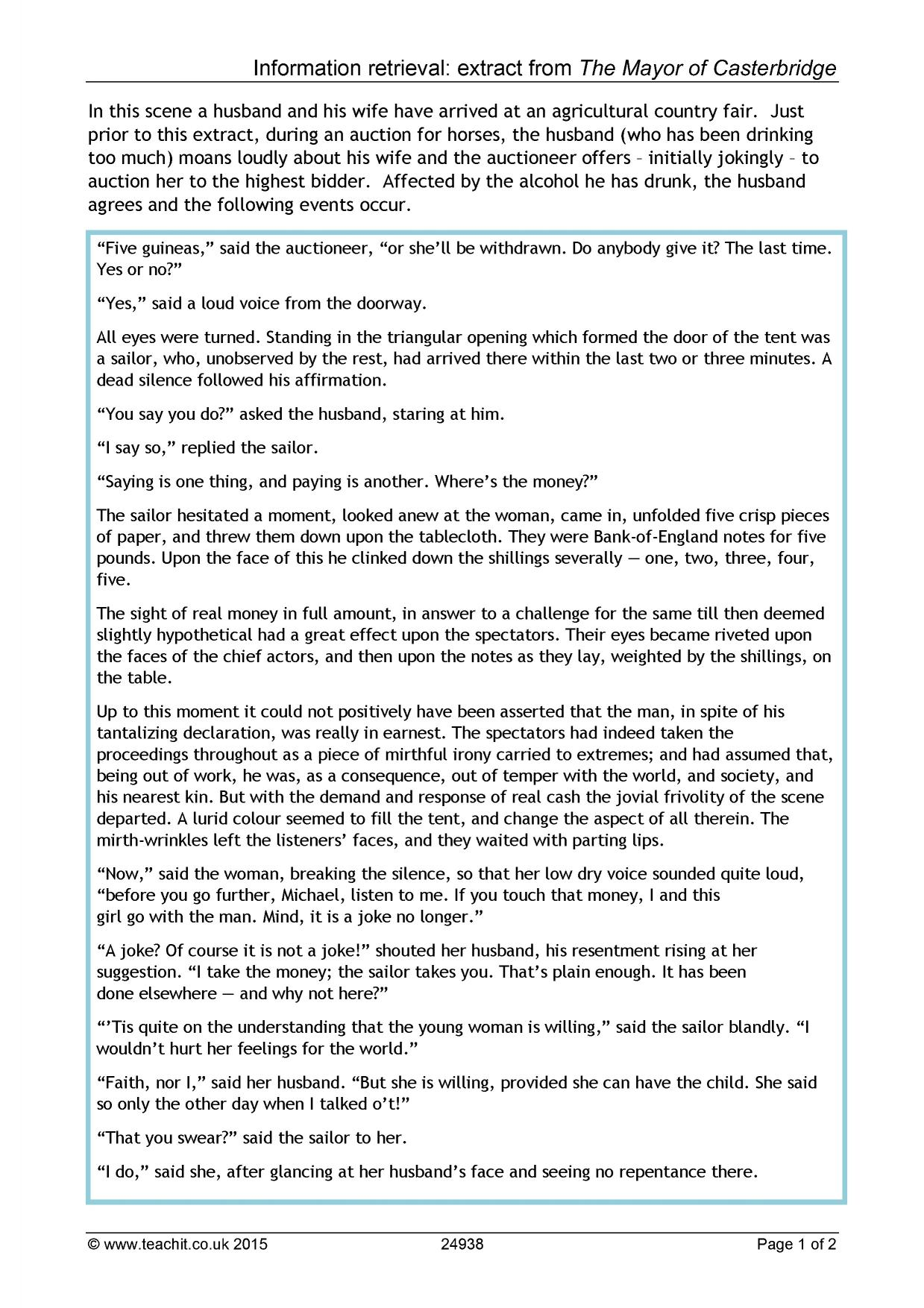 great expectations essay assignment Suggested essay topics and study questions for charles dickens's great expectations perfect for students who have to write great expectations essays.