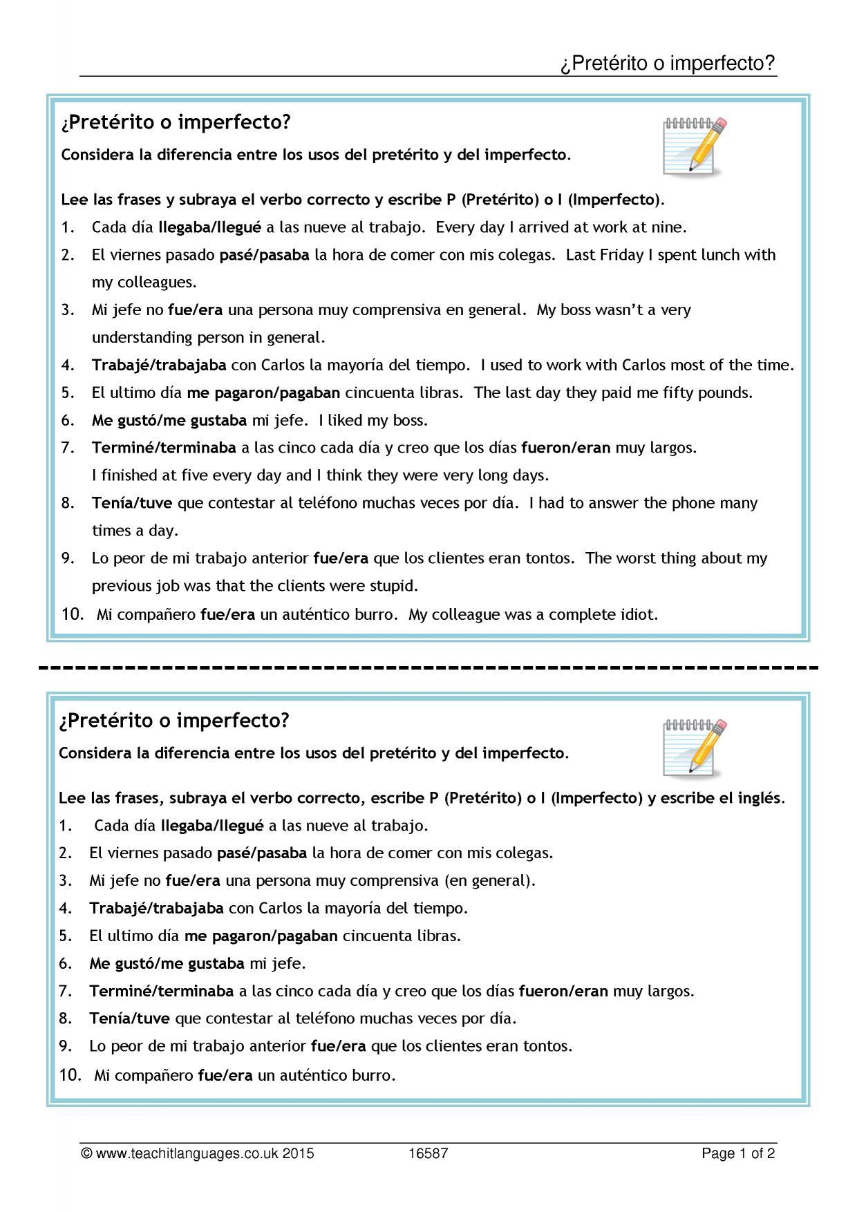 spanish essay future plans