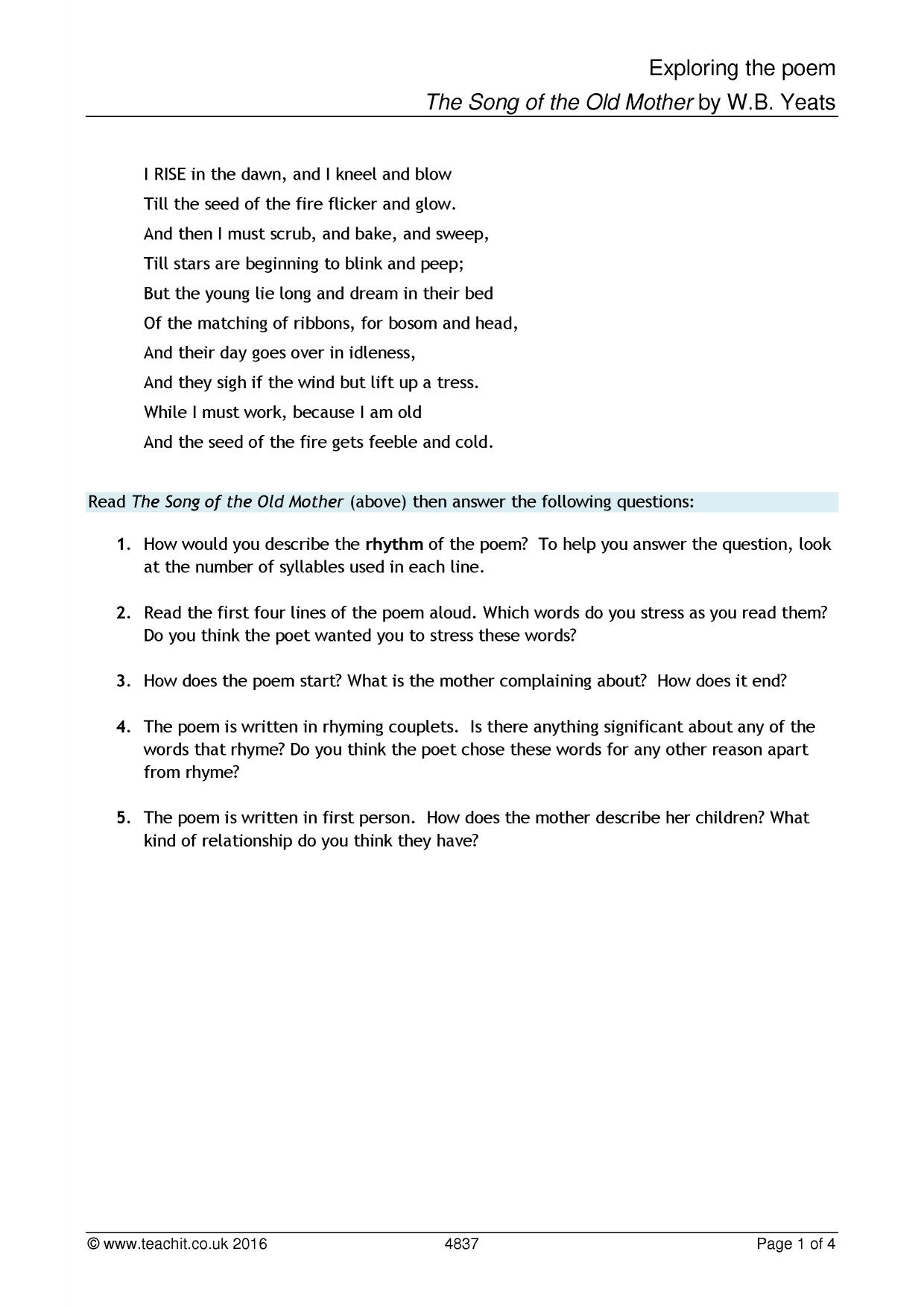 question may swenson essay Free coursework on questions on the text `seeing the poets voice from essayuk uses the poem of may swenson original answer to your essay question.