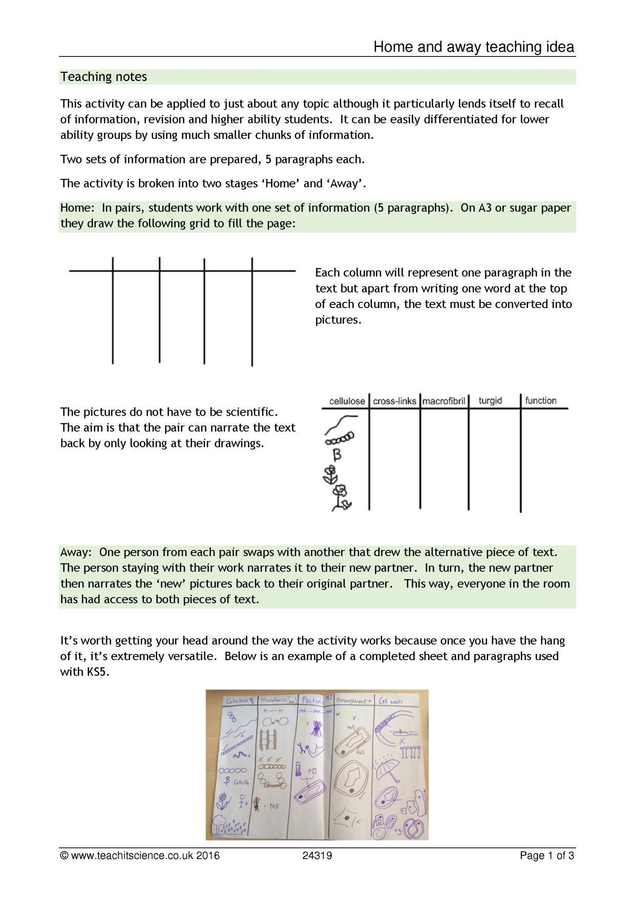 teachit science teaching templates and ideas tips and 1 preview