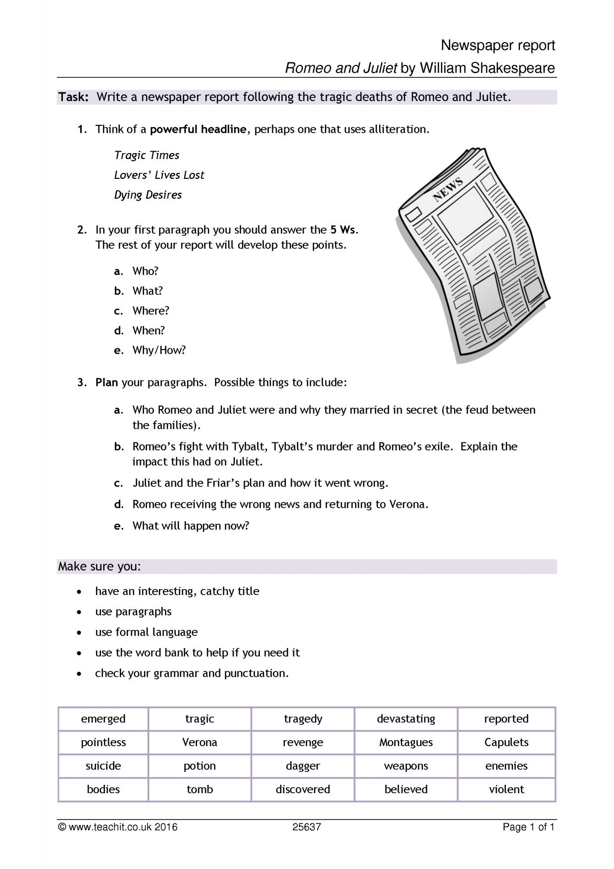 romeo and juliet ks3 plays key stage 3 resources 2 preview