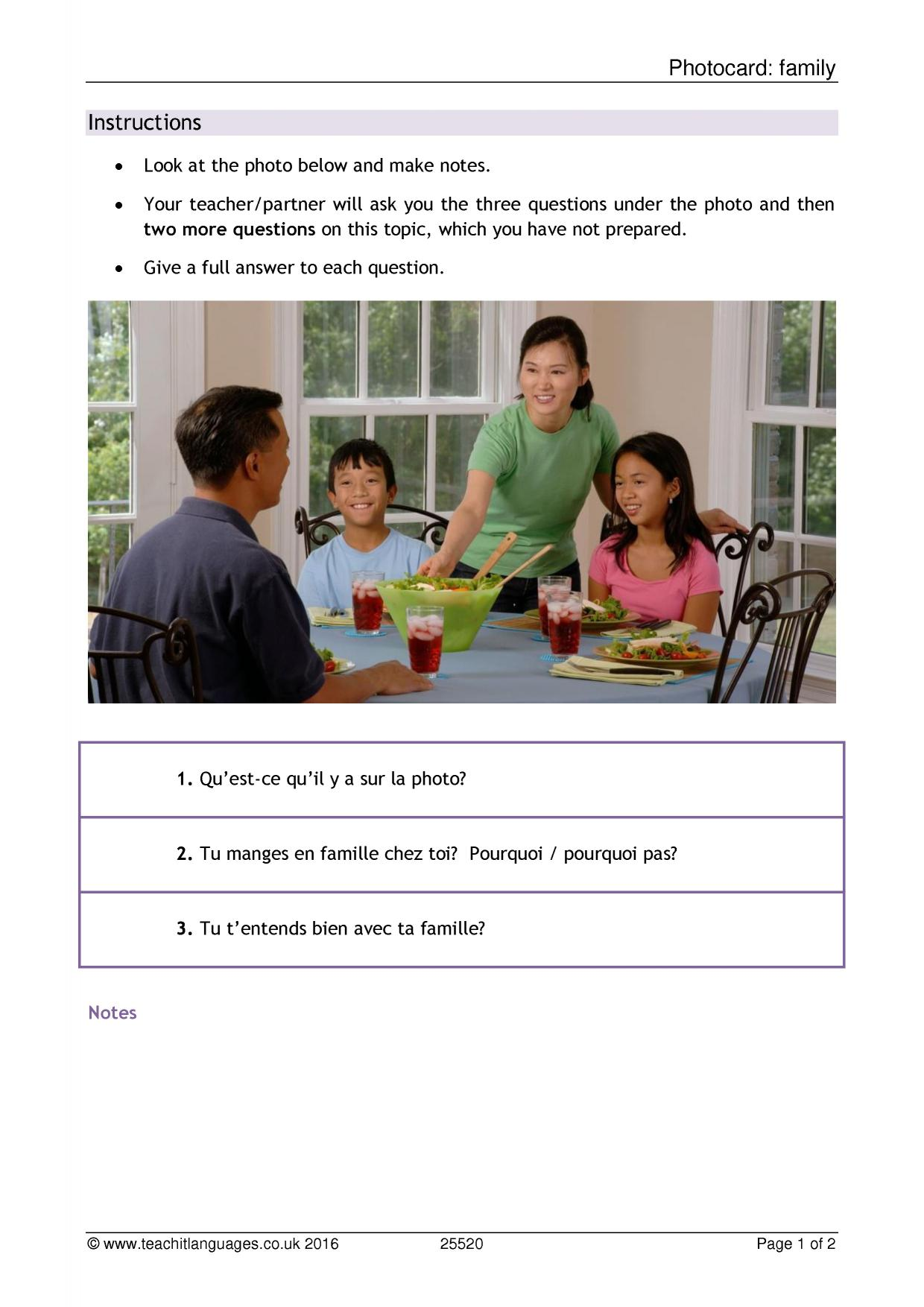 03.03 family traditions writing assignment topics