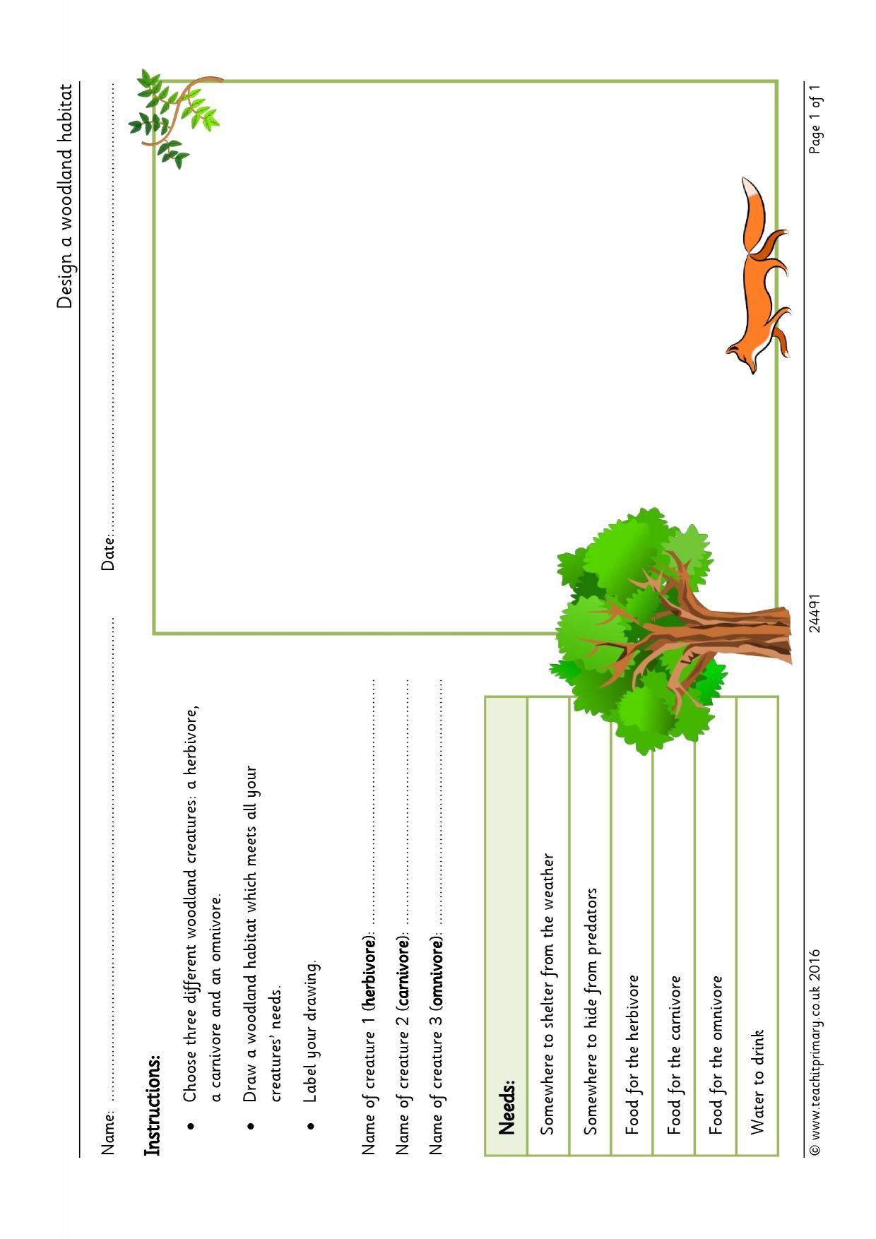 worksheet What Plants Need To Grow Worksheet Ks1 eyfs ks1 ks2 habitats teachit primary 1 preview