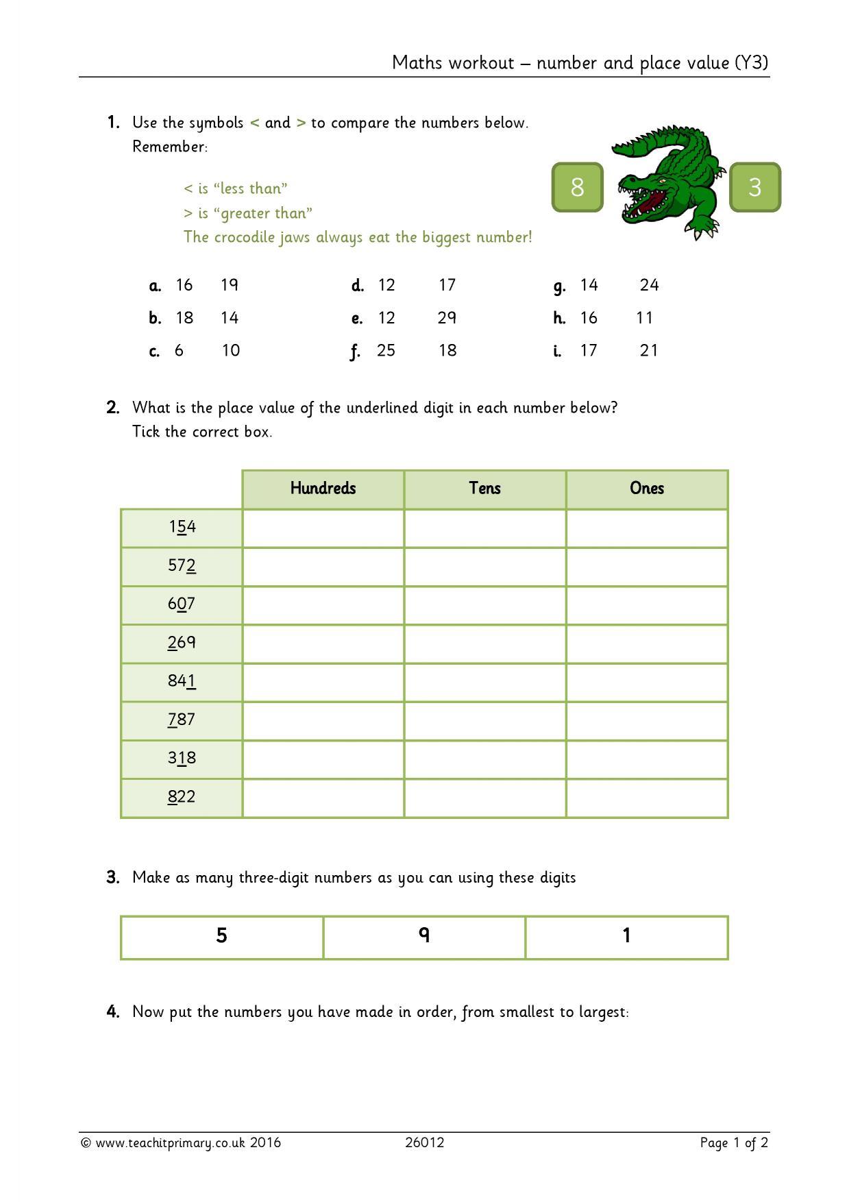 number and place value number ks2 maths resources. Black Bedroom Furniture Sets. Home Design Ideas