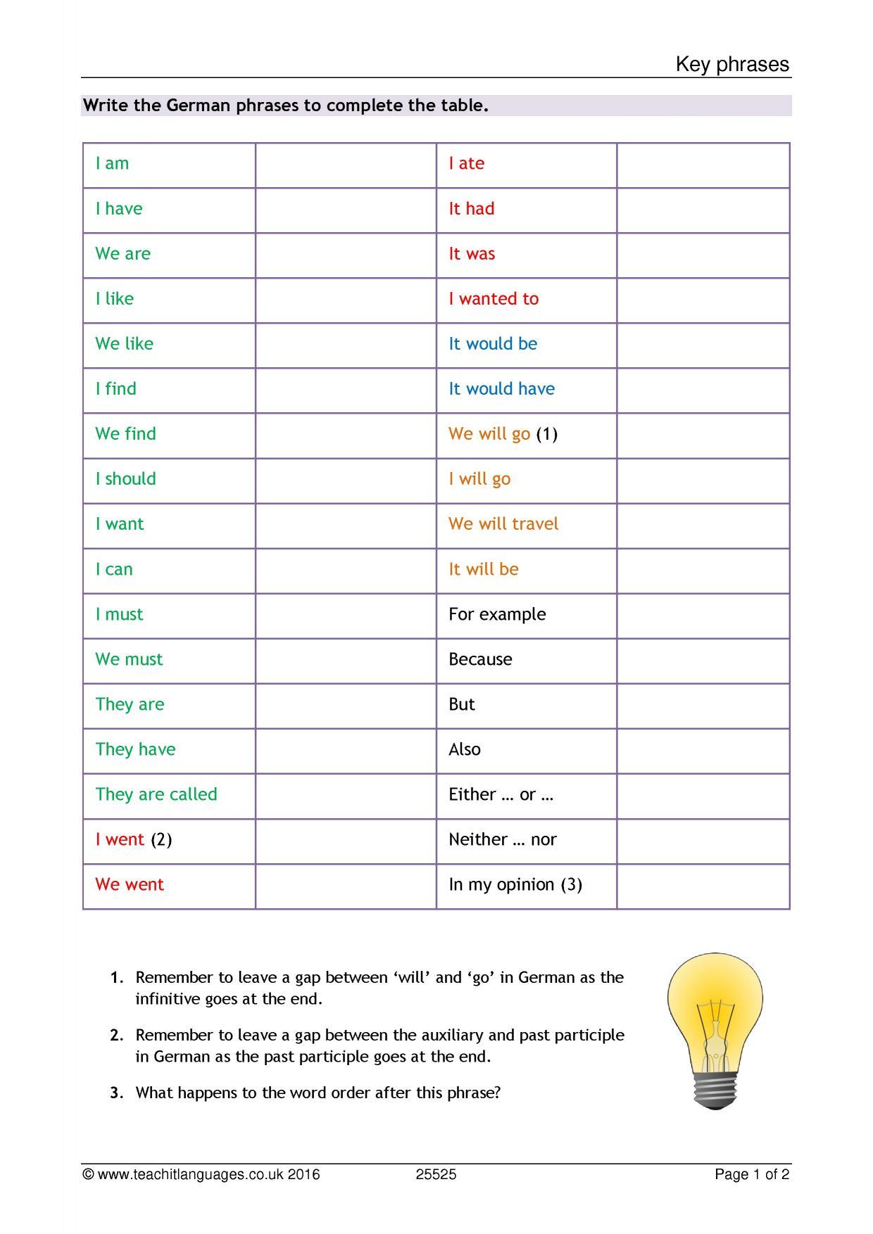 German language teaching resources teachit languages 4 preview kristyandbryce Images