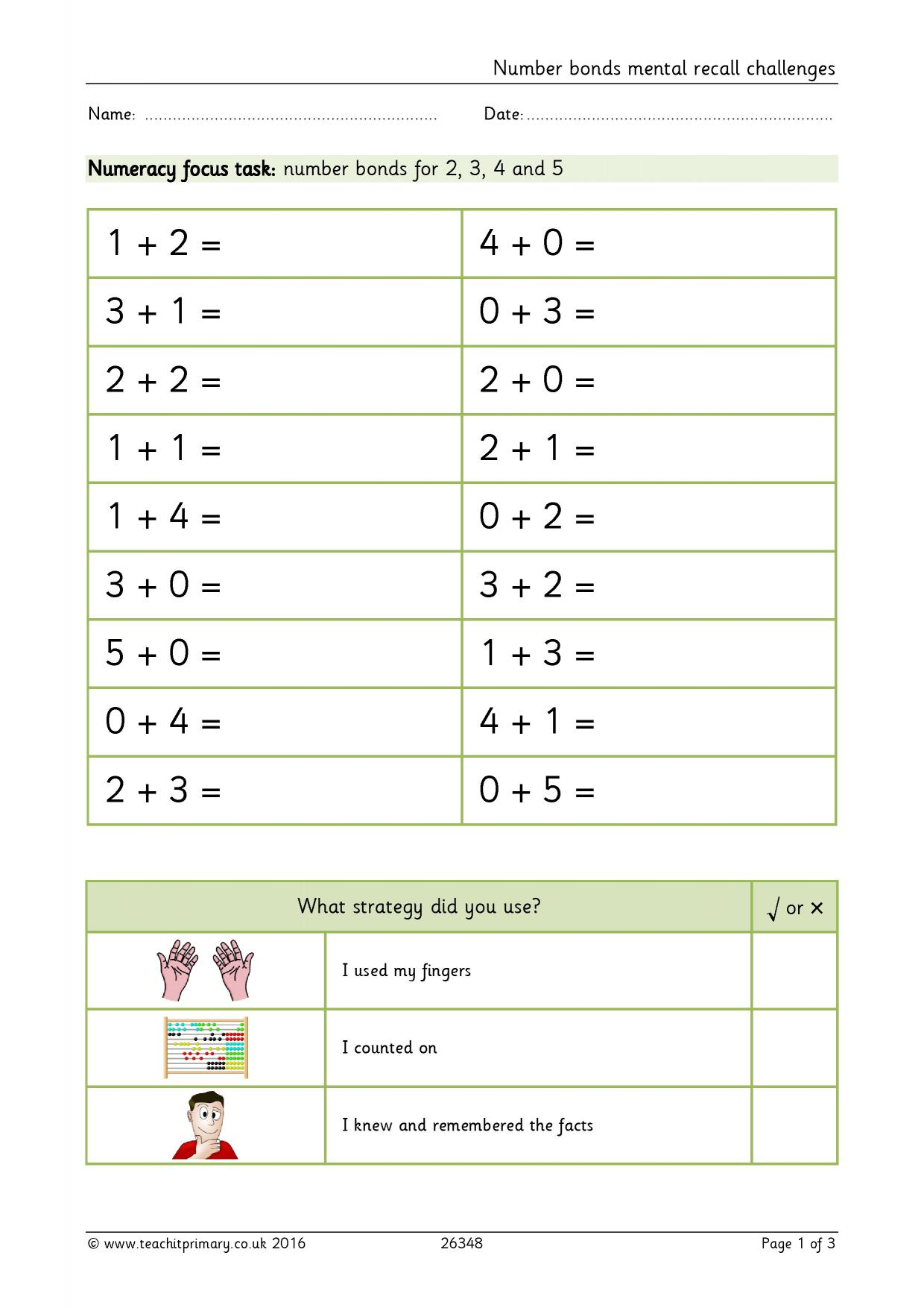 Worksheet number bond worksheets to 10 worksheet fun worksheet worksheet number bond worksheets to 10 number bonds mental recall challenges addition and subtraction the basics ibookread PDF