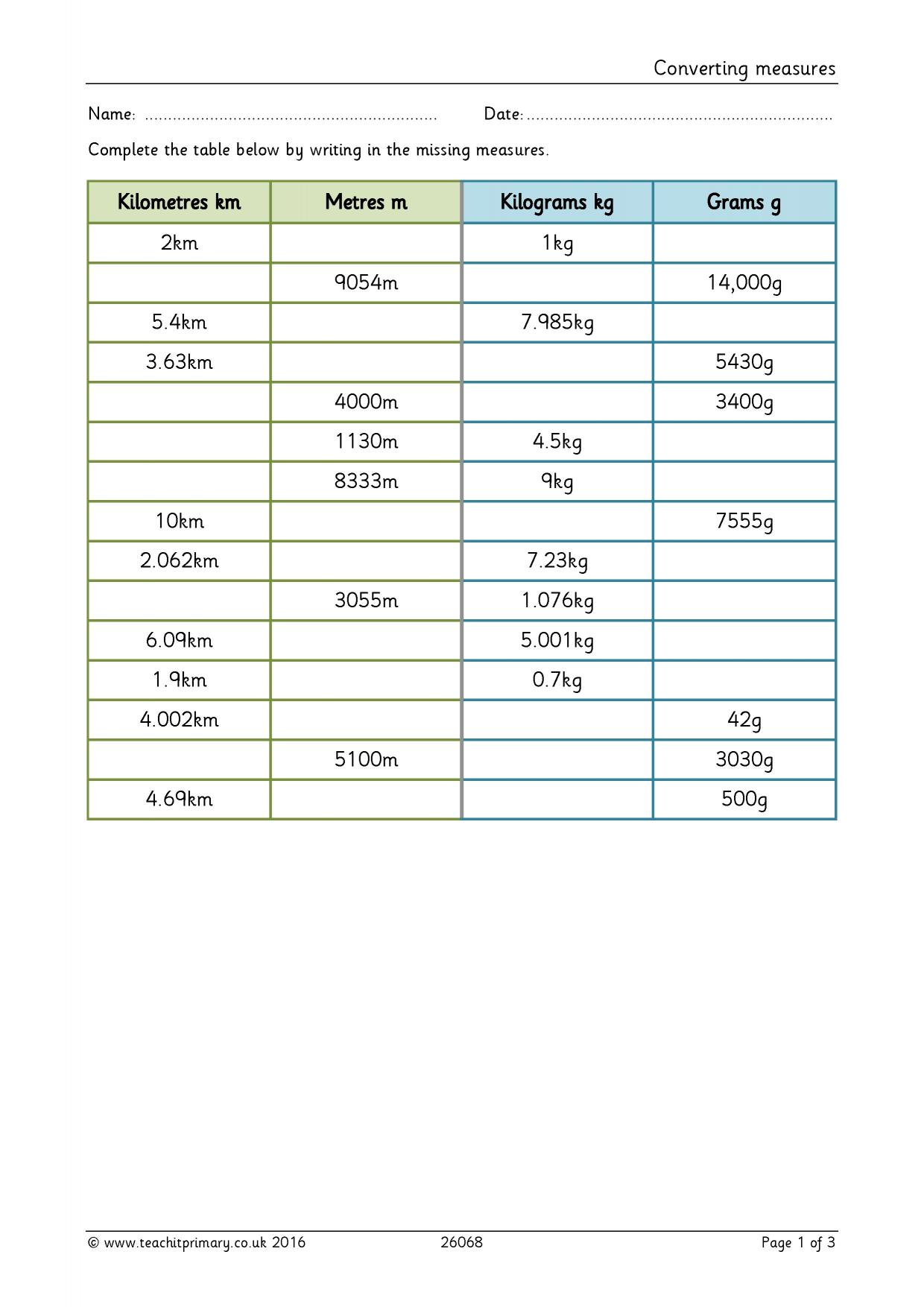 Ks2 lengths and heights teachit primary 0 preview robcynllc Choice Image