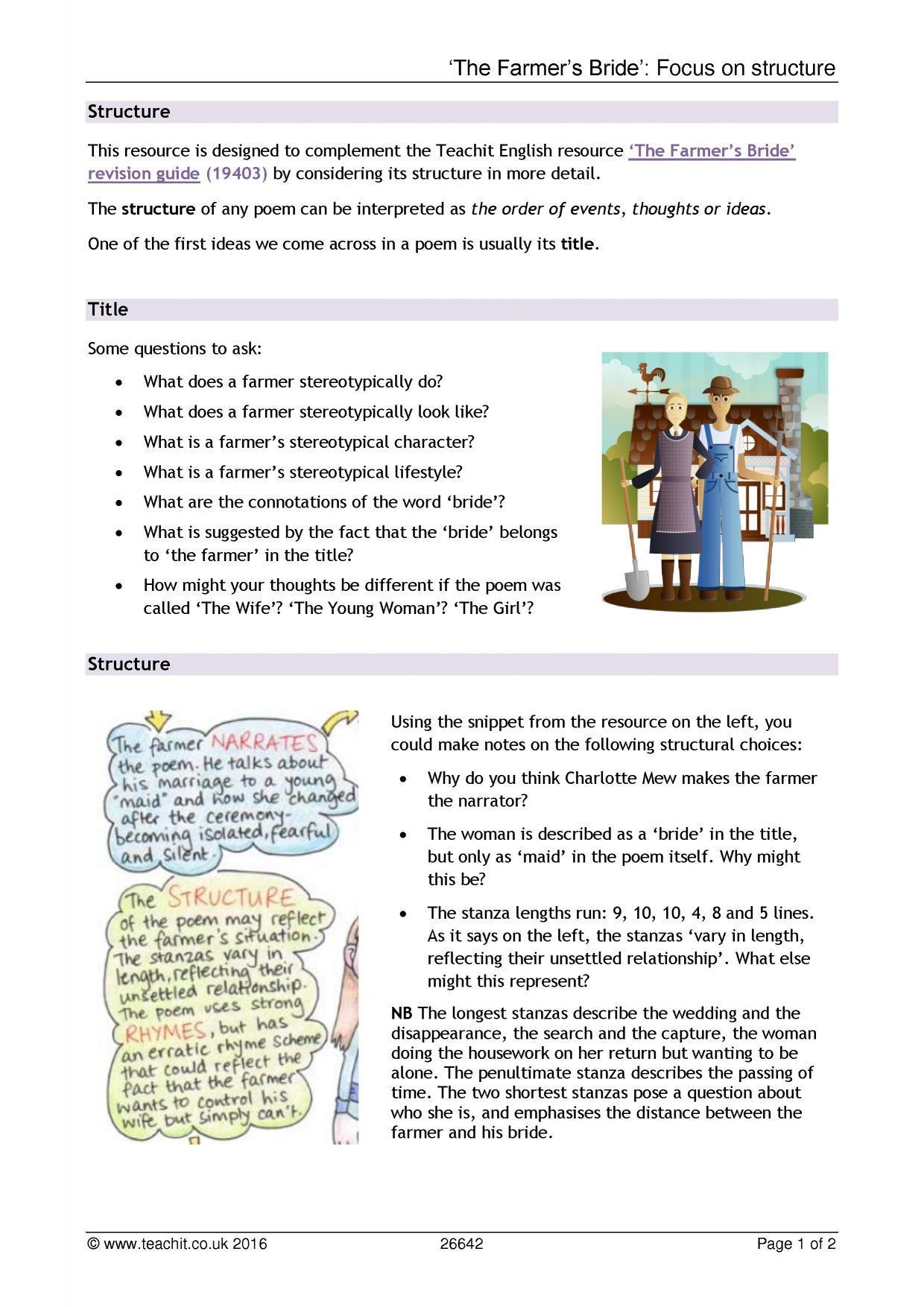 igcse poetry essay structure