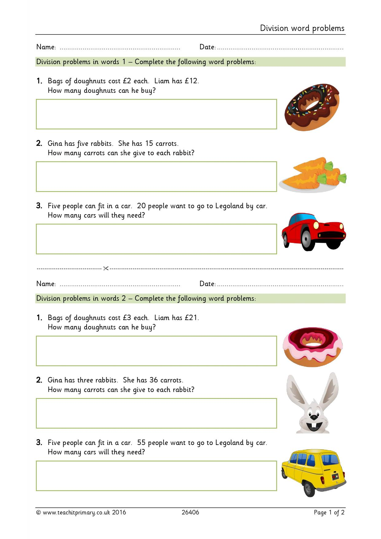 division word problems basic multiplication and division home page. Black Bedroom Furniture Sets. Home Design Ideas