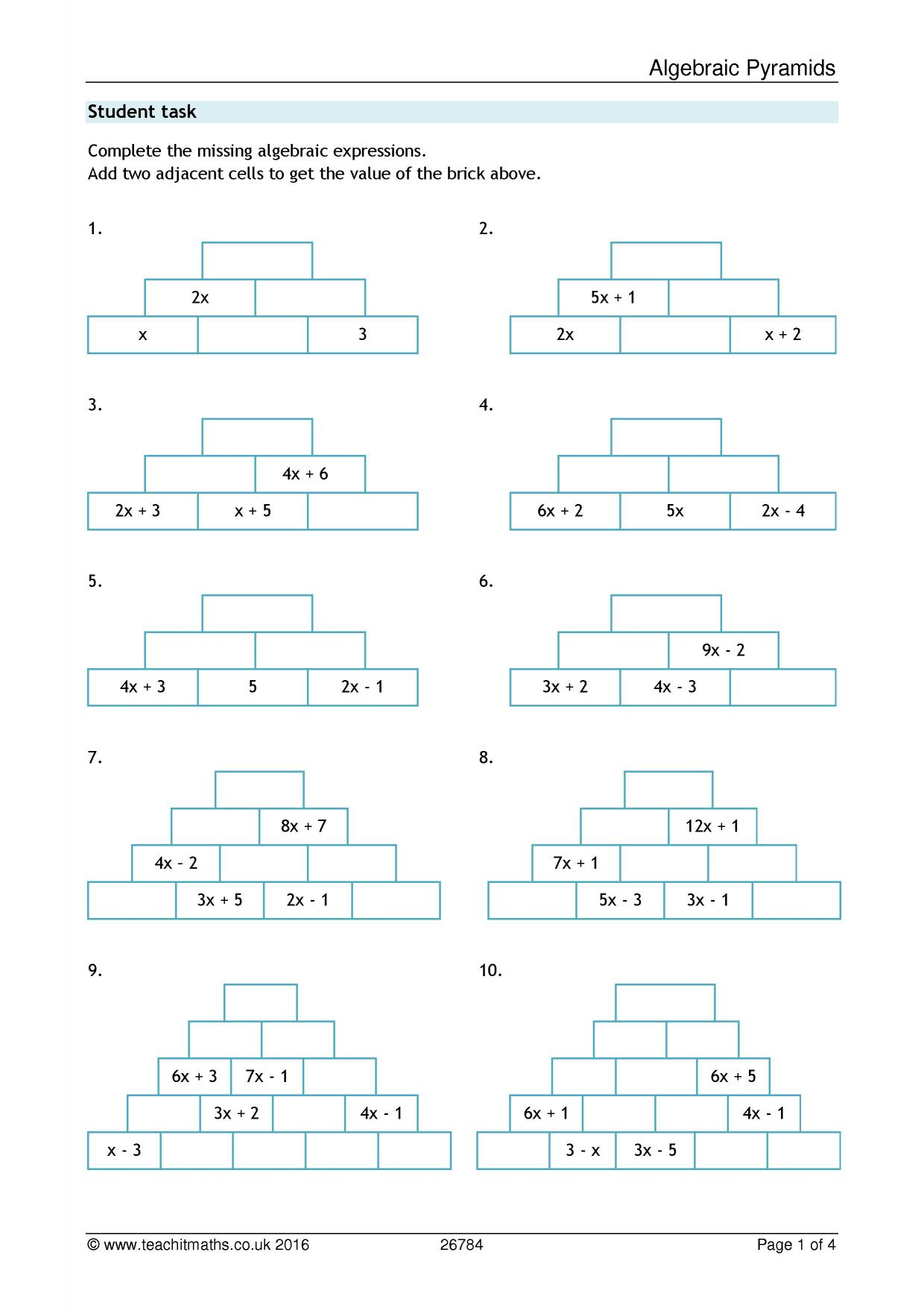 Free Worksheet Fractions Decimals Percents Worksheet teachit maths all ks3 resources 0 preview