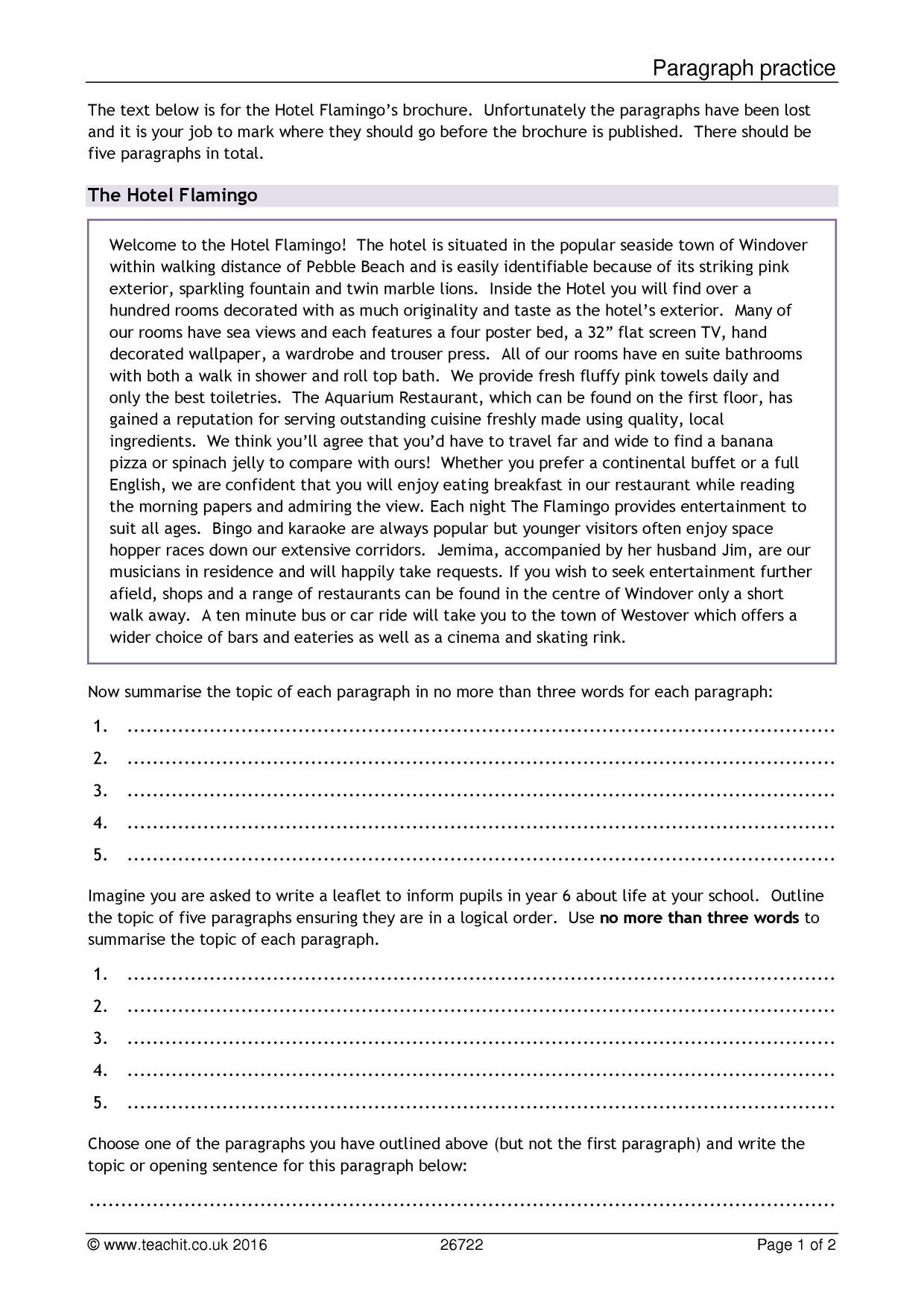 Sustainable visitor centre essay