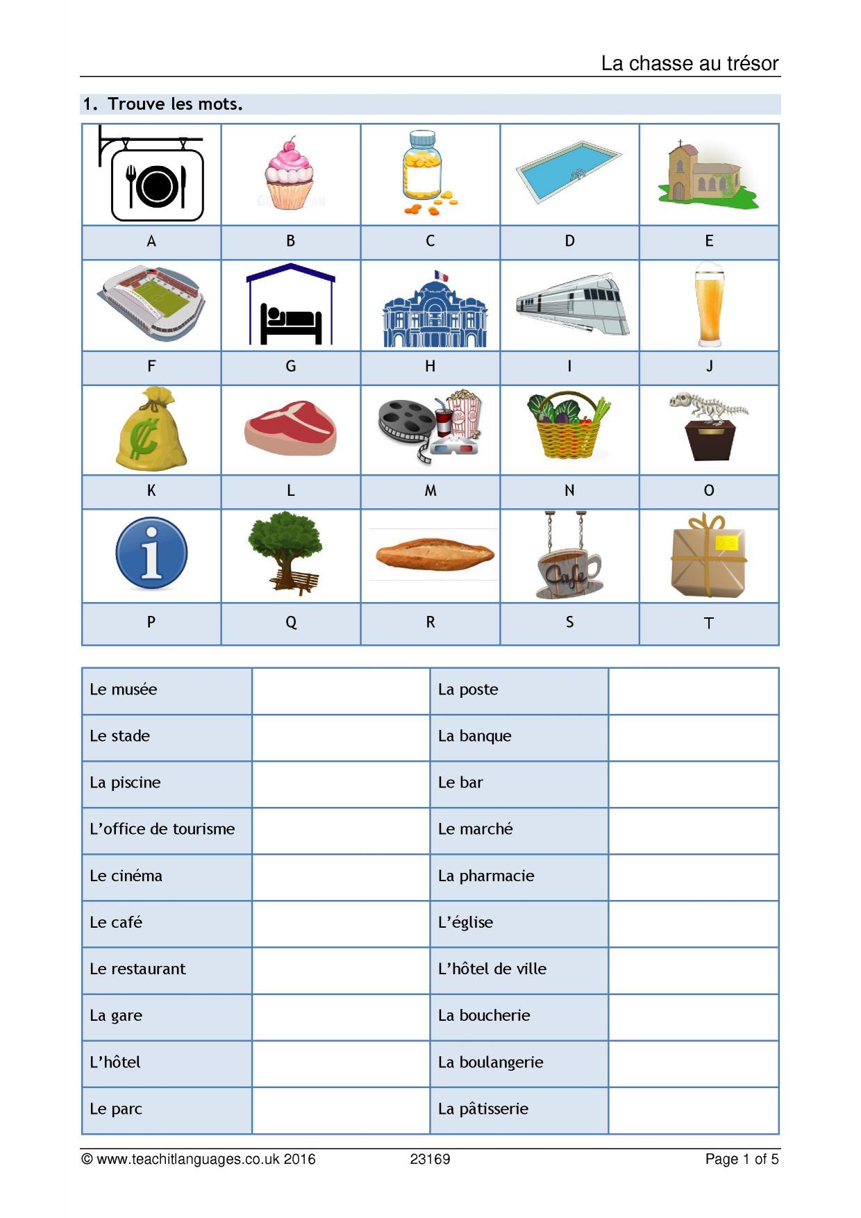 translation practice worksheet