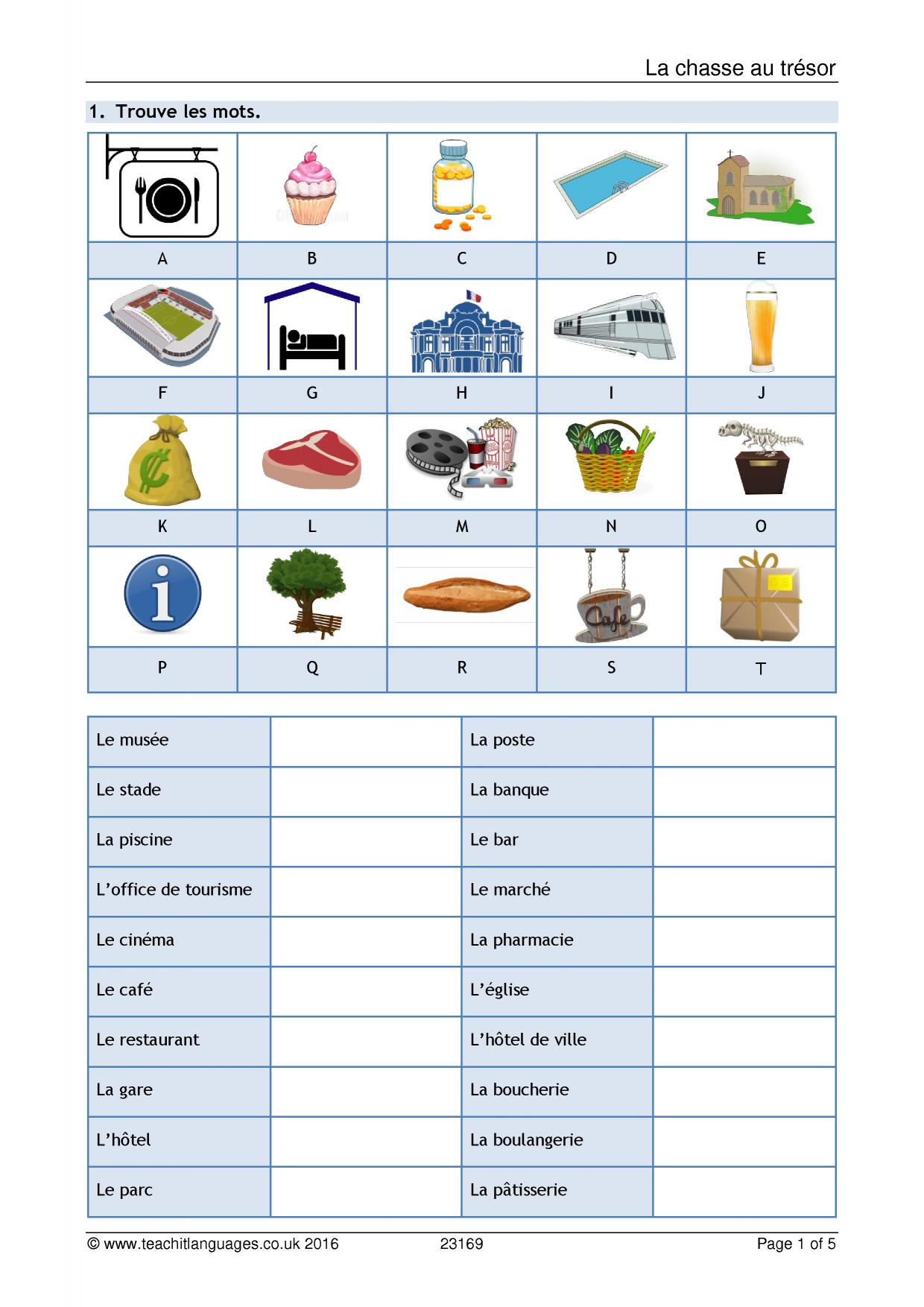 literature worksheets