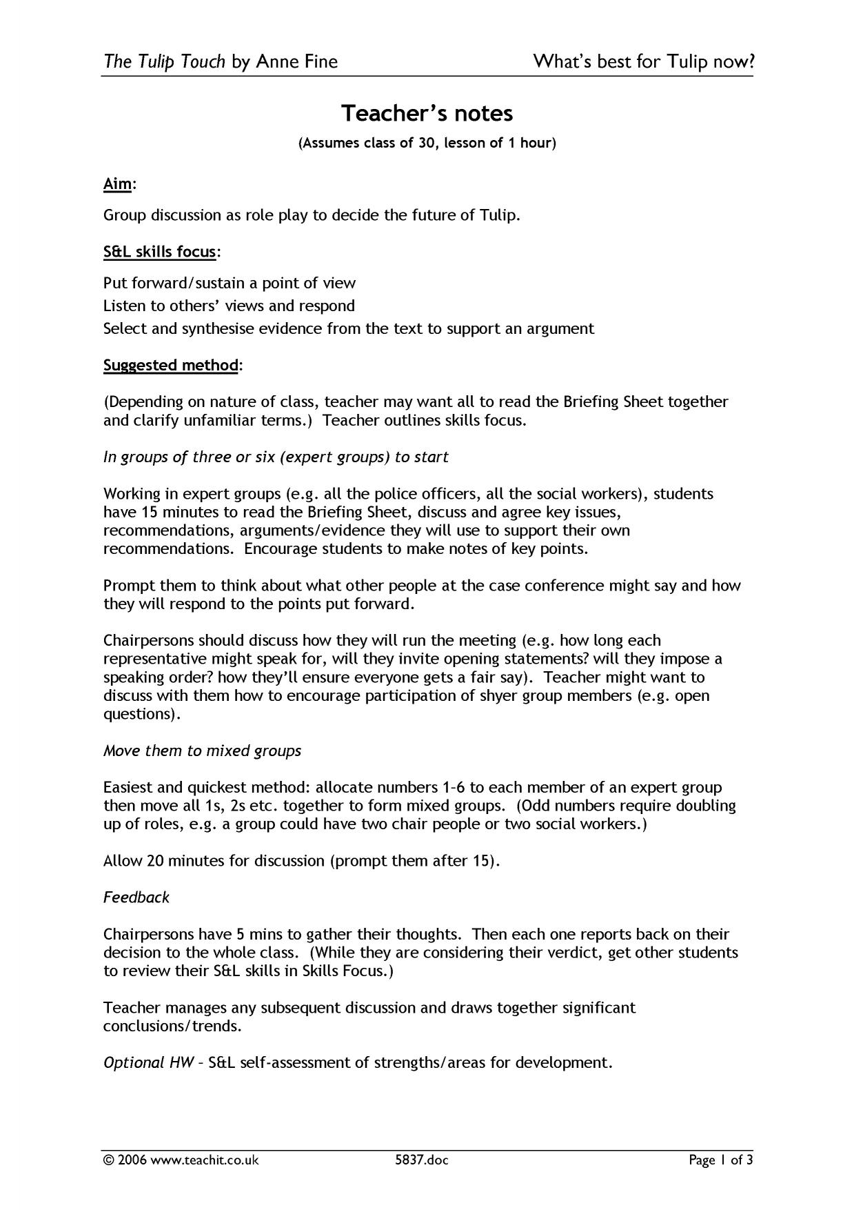 Support of family essay