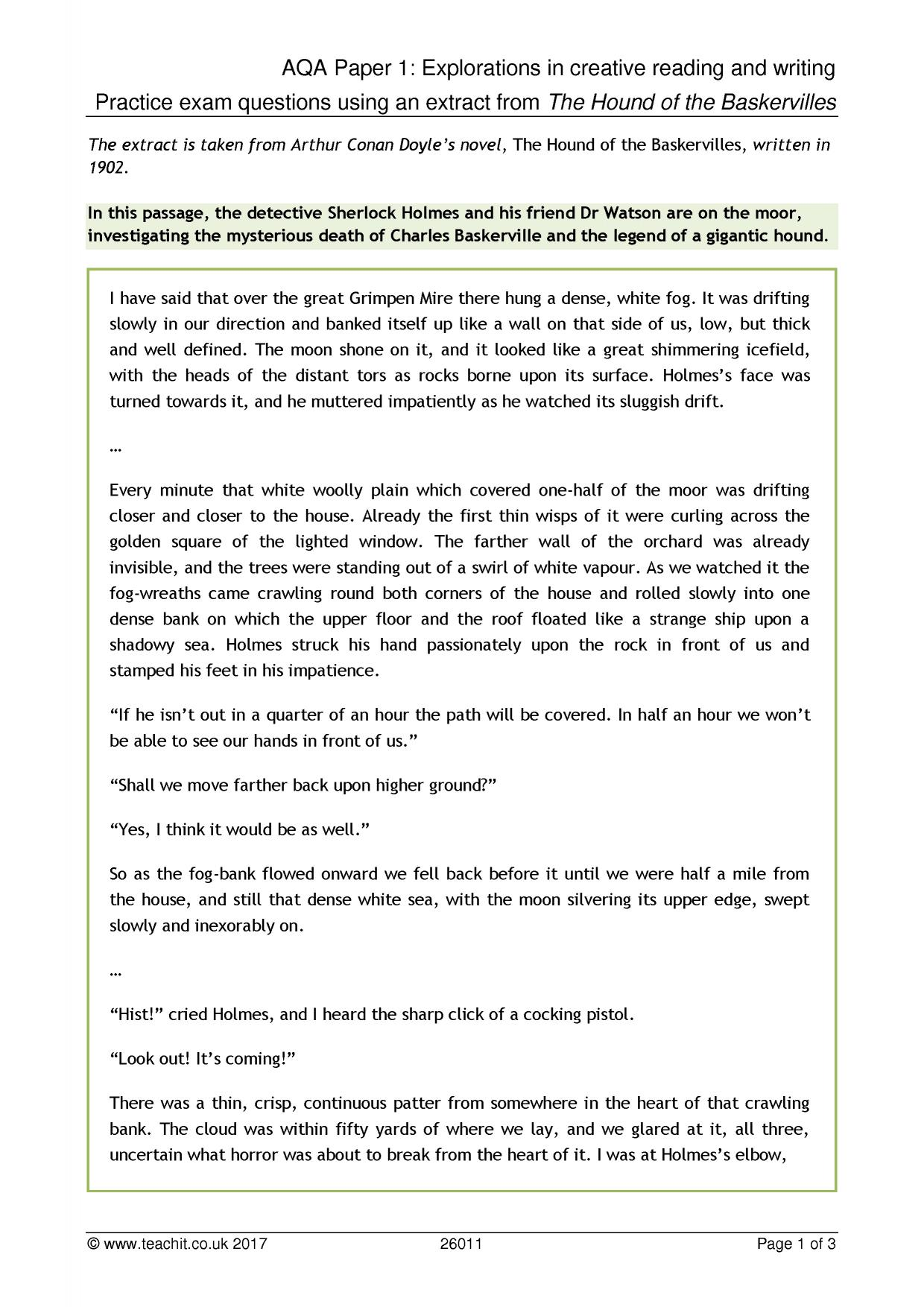 gcse english coursework/descriptive writing A secondary school revision resource for gcse english exam tips on writing to  inform, explain or describe.