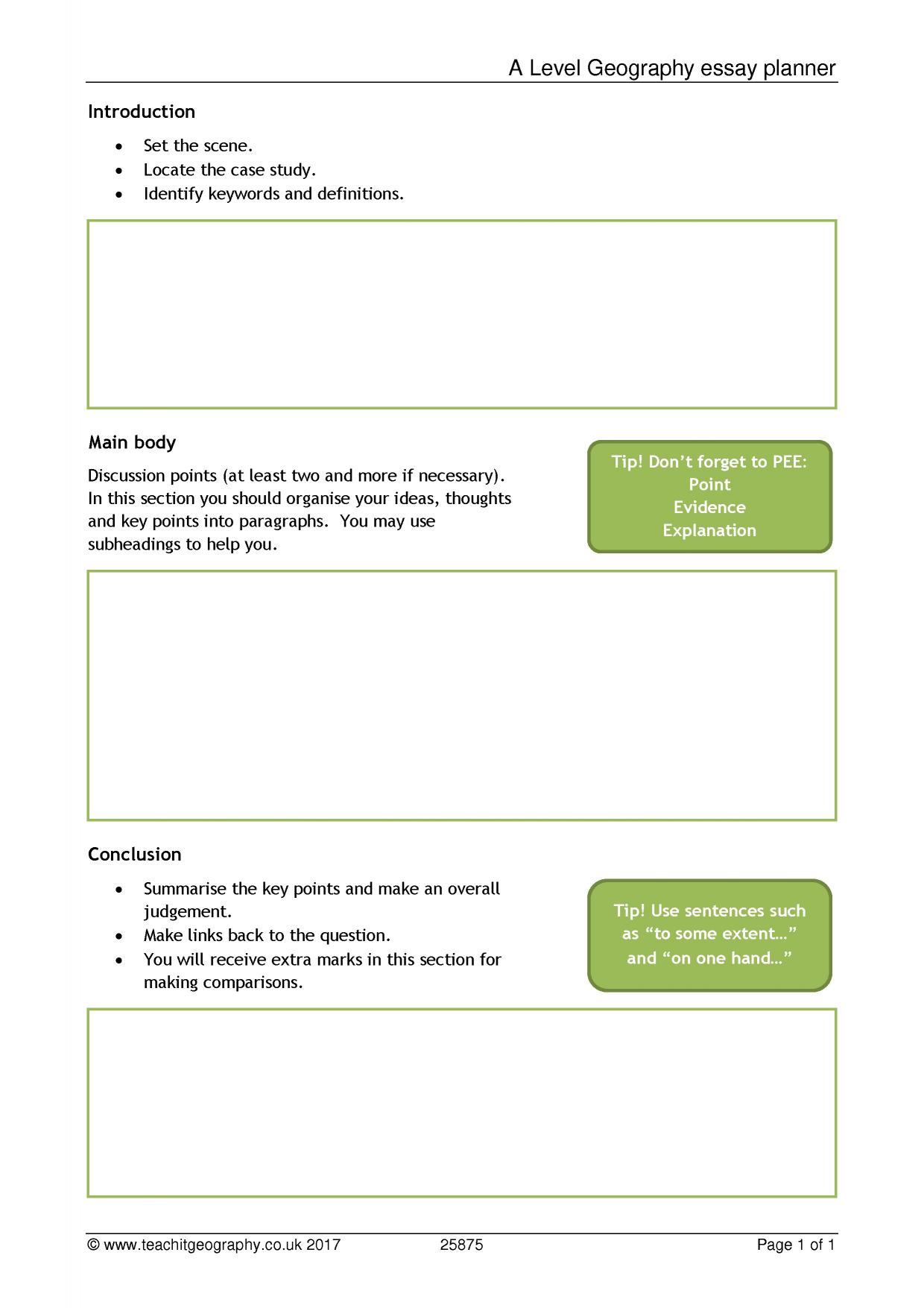 Geography Revision Pack AQA Edexcel Get Revising