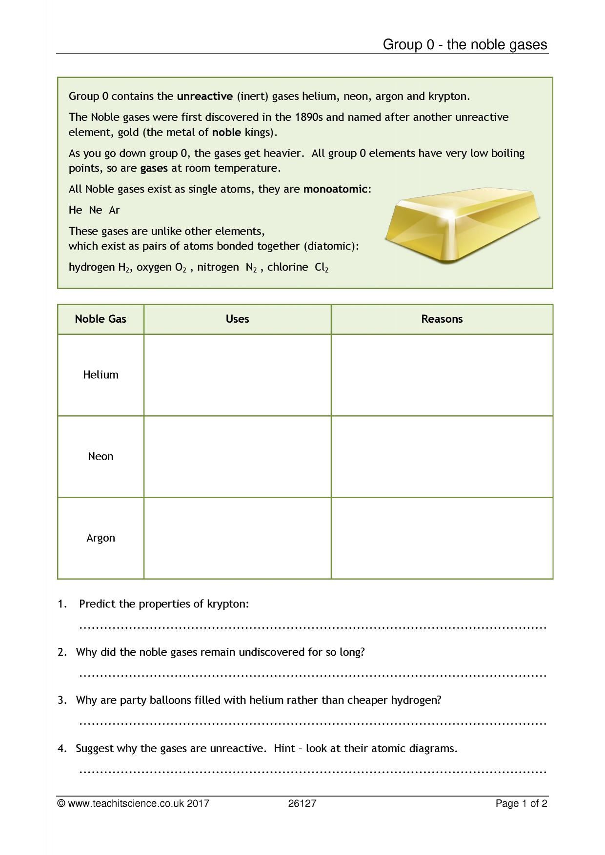worksheet Chemical Reactivity Worksheet ks3 patterns of reactivity teachit science 0 preview chemistry