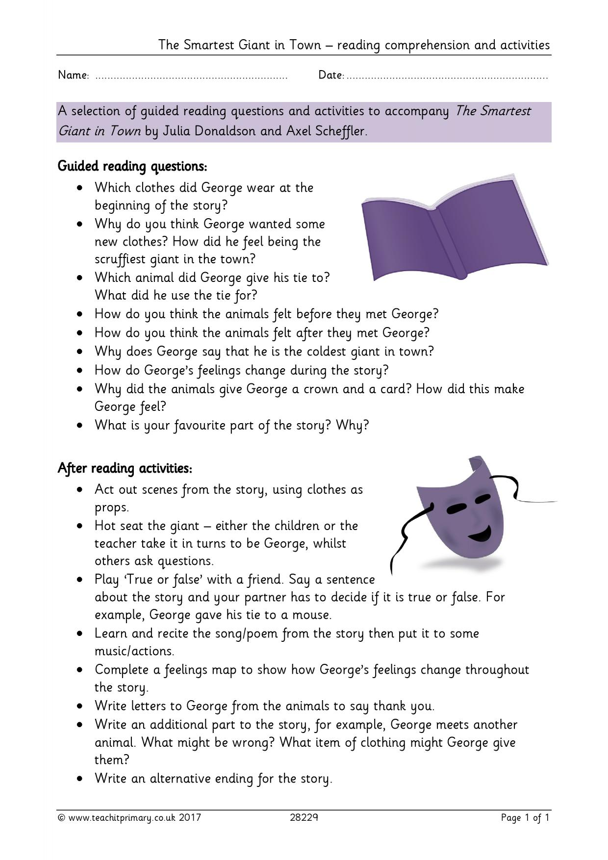 reading - search results - teachit primary