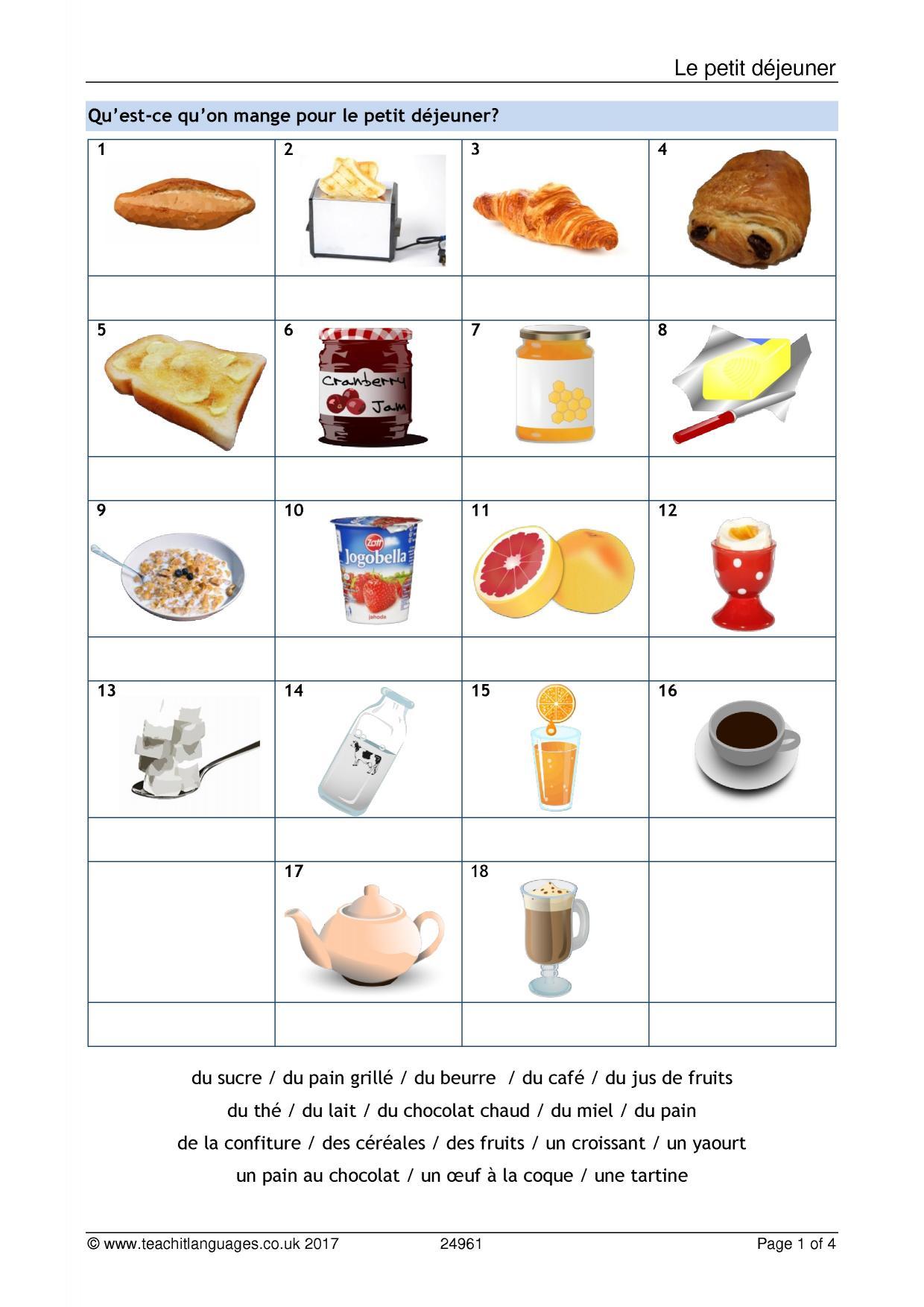 ks3 french vocabulary teachit languages. Black Bedroom Furniture Sets. Home Design Ideas
