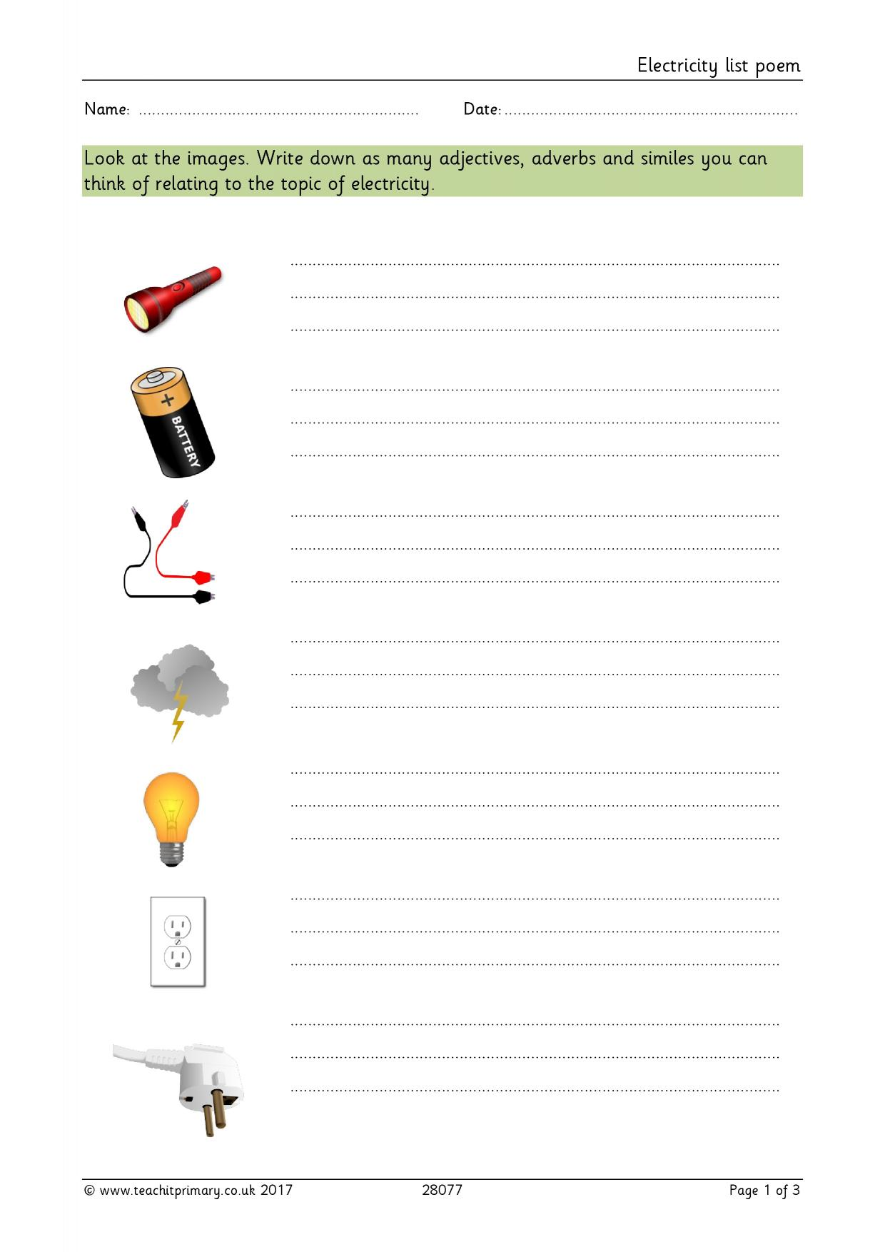 descriptive sentences Descriptive sentences : worksheet for fourth grade english language arts write at least two descriptive sentences to describe each picture the first has been done for you as an example.