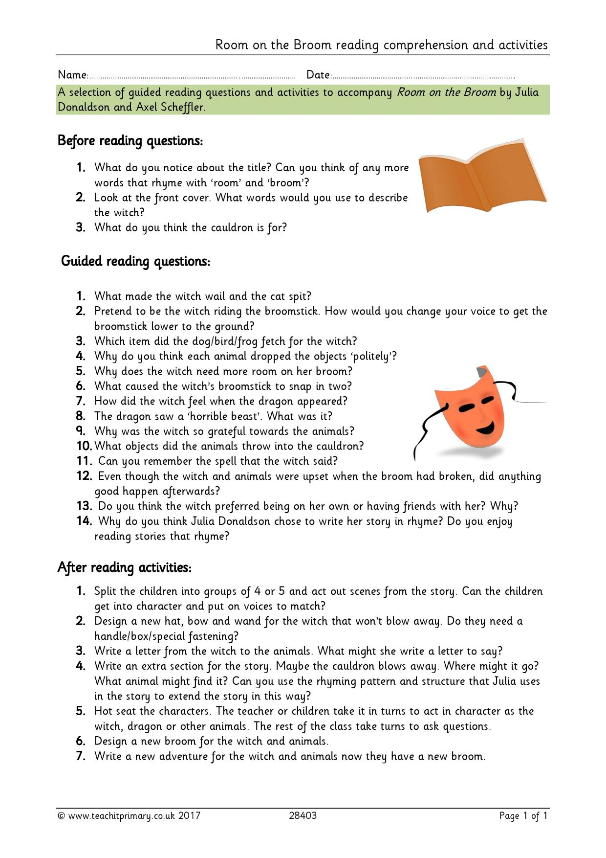 Teachit Primary - Reading comprehension teaching resources ...