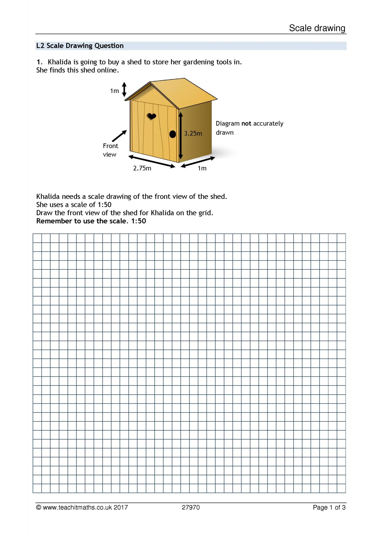 worksheets on scale drawings the best and most comprehensive worksheets. Black Bedroom Furniture Sets. Home Design Ideas