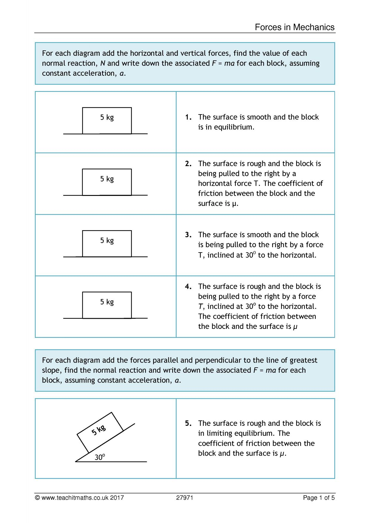 Uncategorized F Ma Worksheet latest resources teachit maths 0 preview